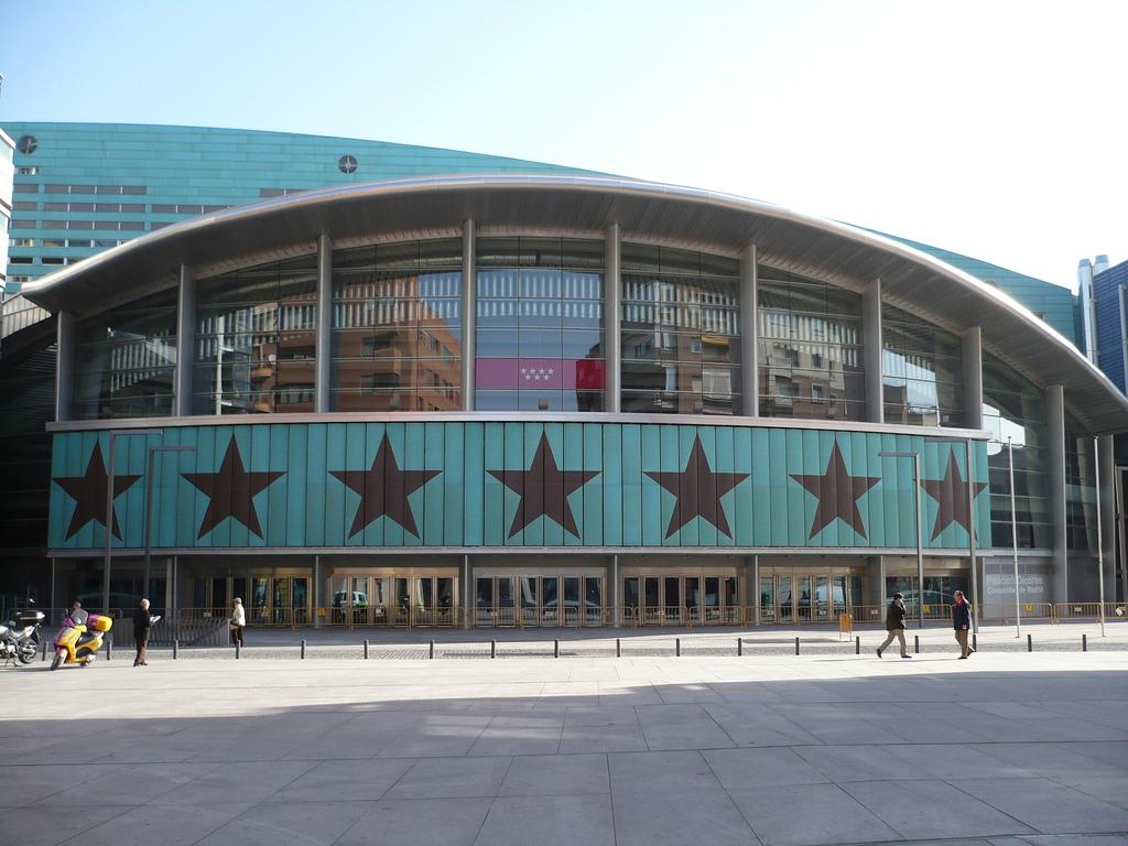 madrid palacio de deportes de la comunidad de madrid