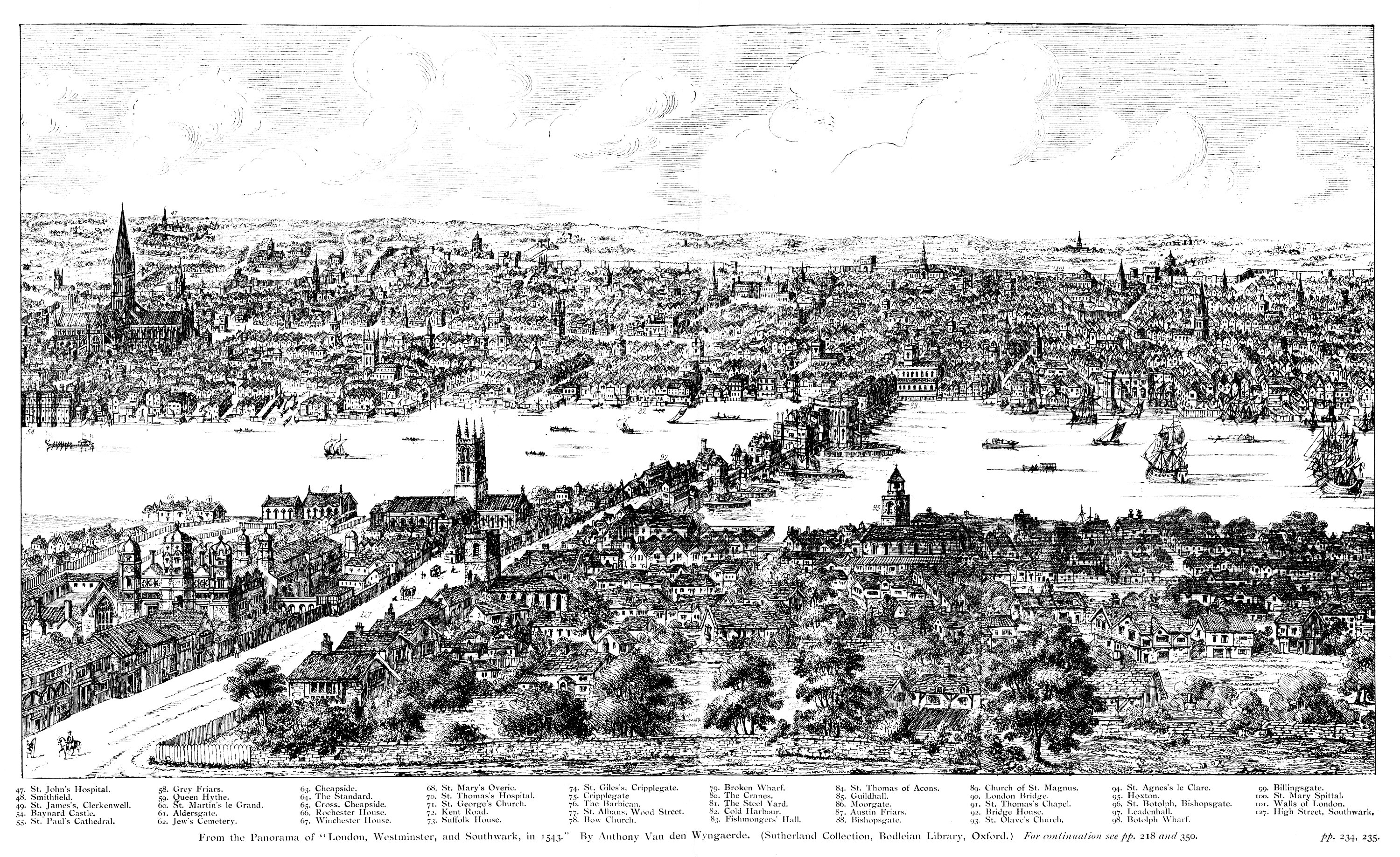File:Panorama of London in 1543 Wyngaerde Section 2.jpg