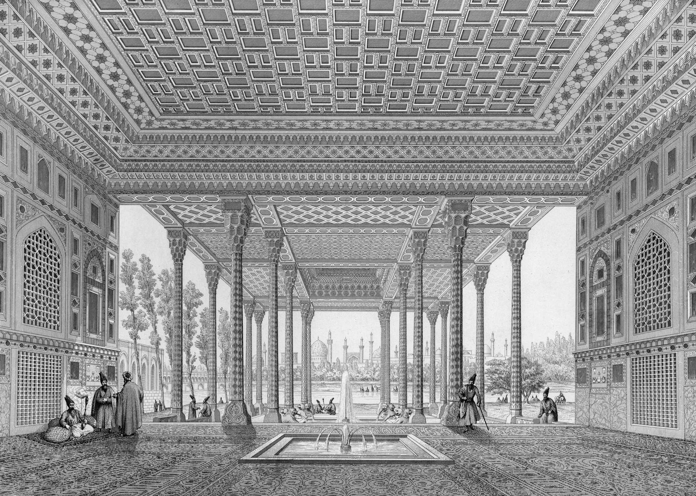 File Pavillon Of Aynekhane Interior View Perspective By