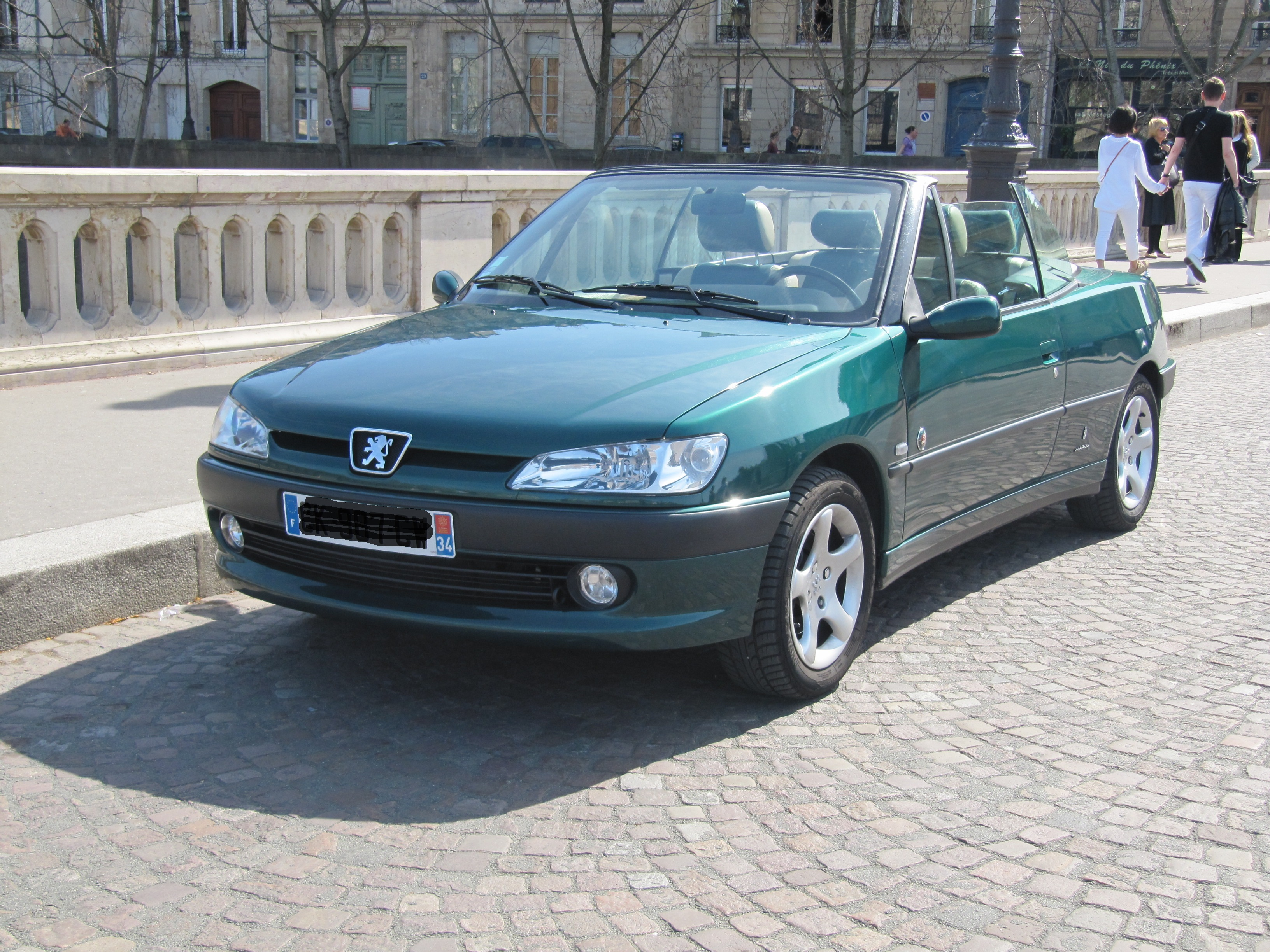 fichier peugeot 306 cabriolet roland garros 2001 jpg wikip dia. Black Bedroom Furniture Sets. Home Design Ideas