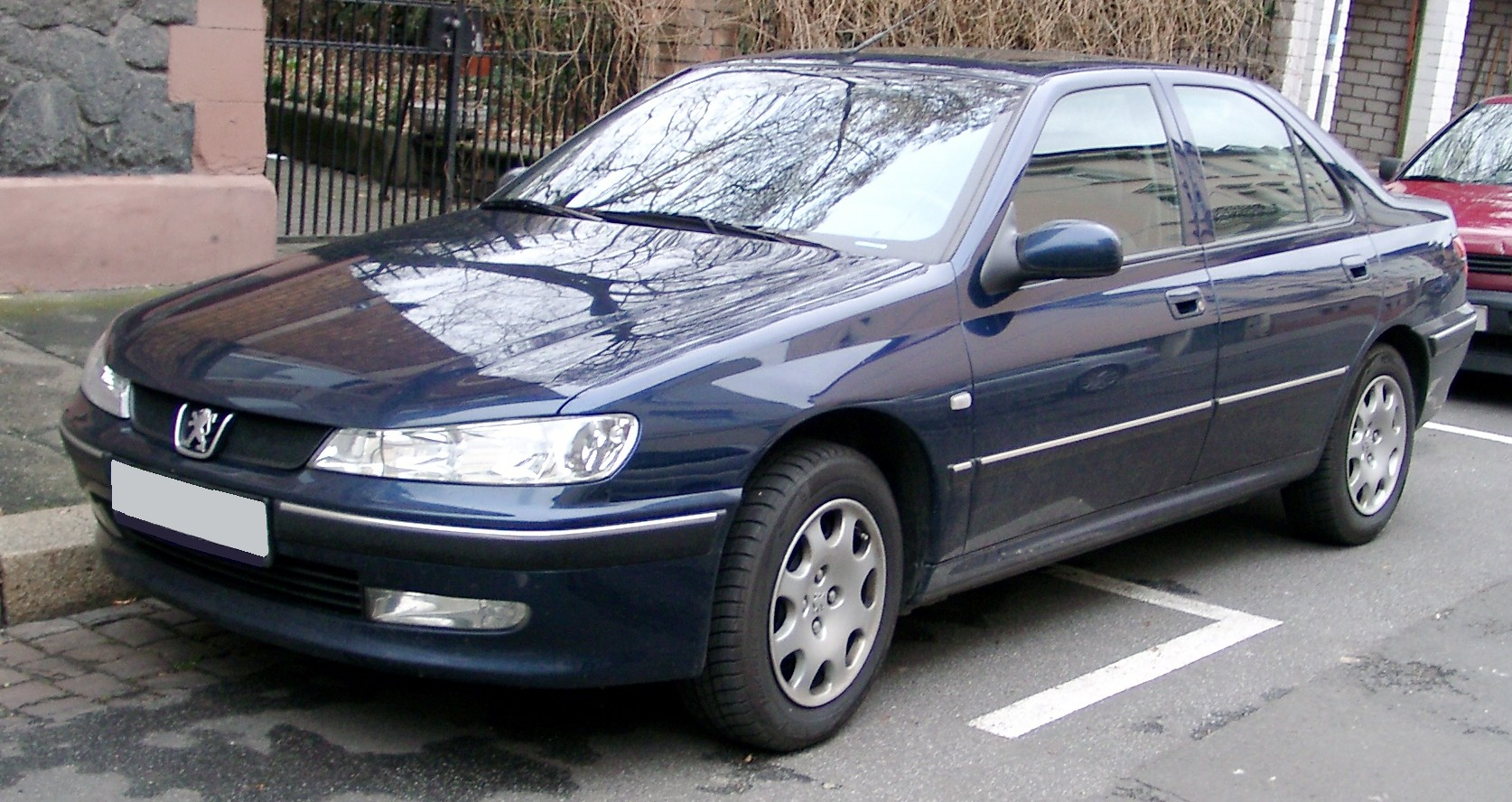 File:Peugeot 406 front 20080118.jpg - Wikimedia Commons