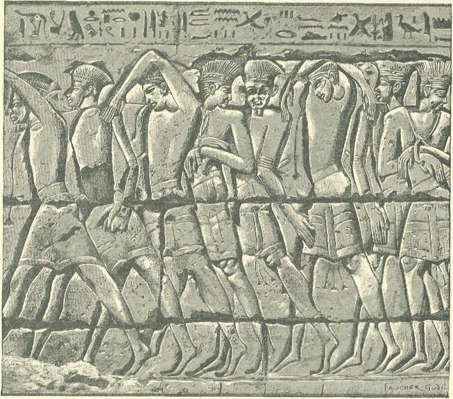 File:Philistine captives at Medinet Habu.jpg