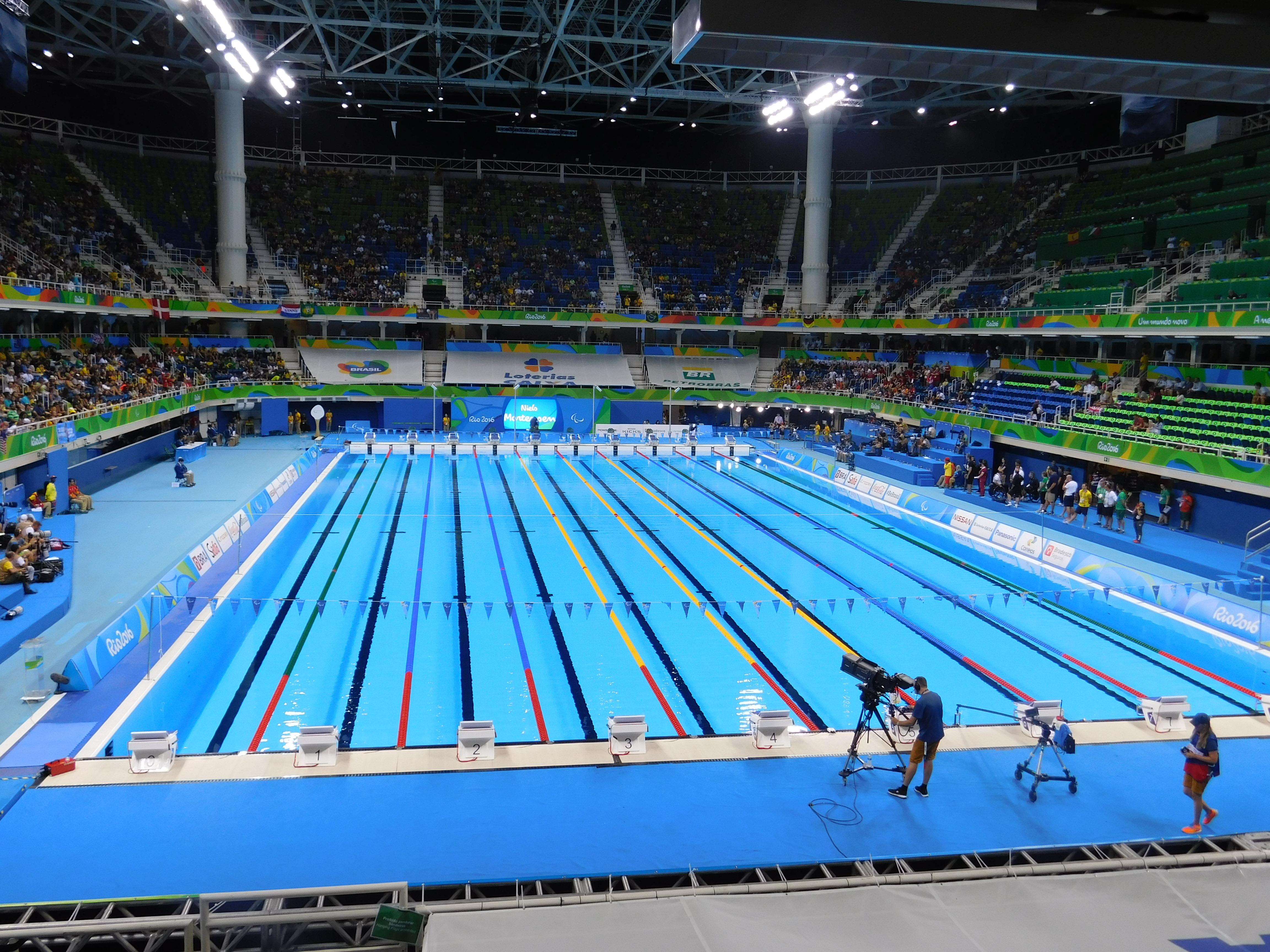 File piscina do parque olimpico rio wikimedia - Piscina olimpiadi ...