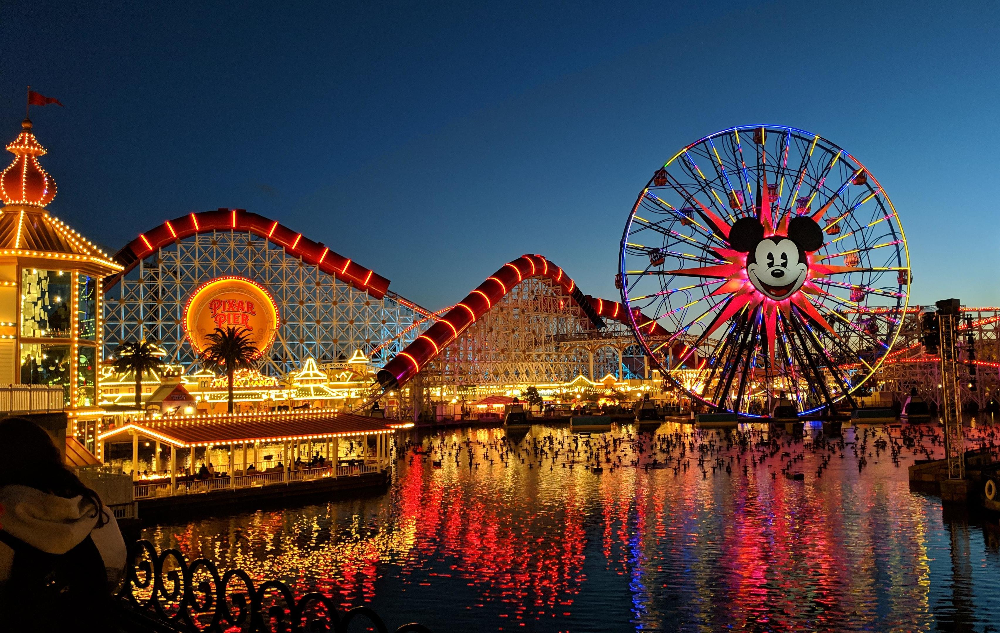 There are rules to reopen Californian theme parks