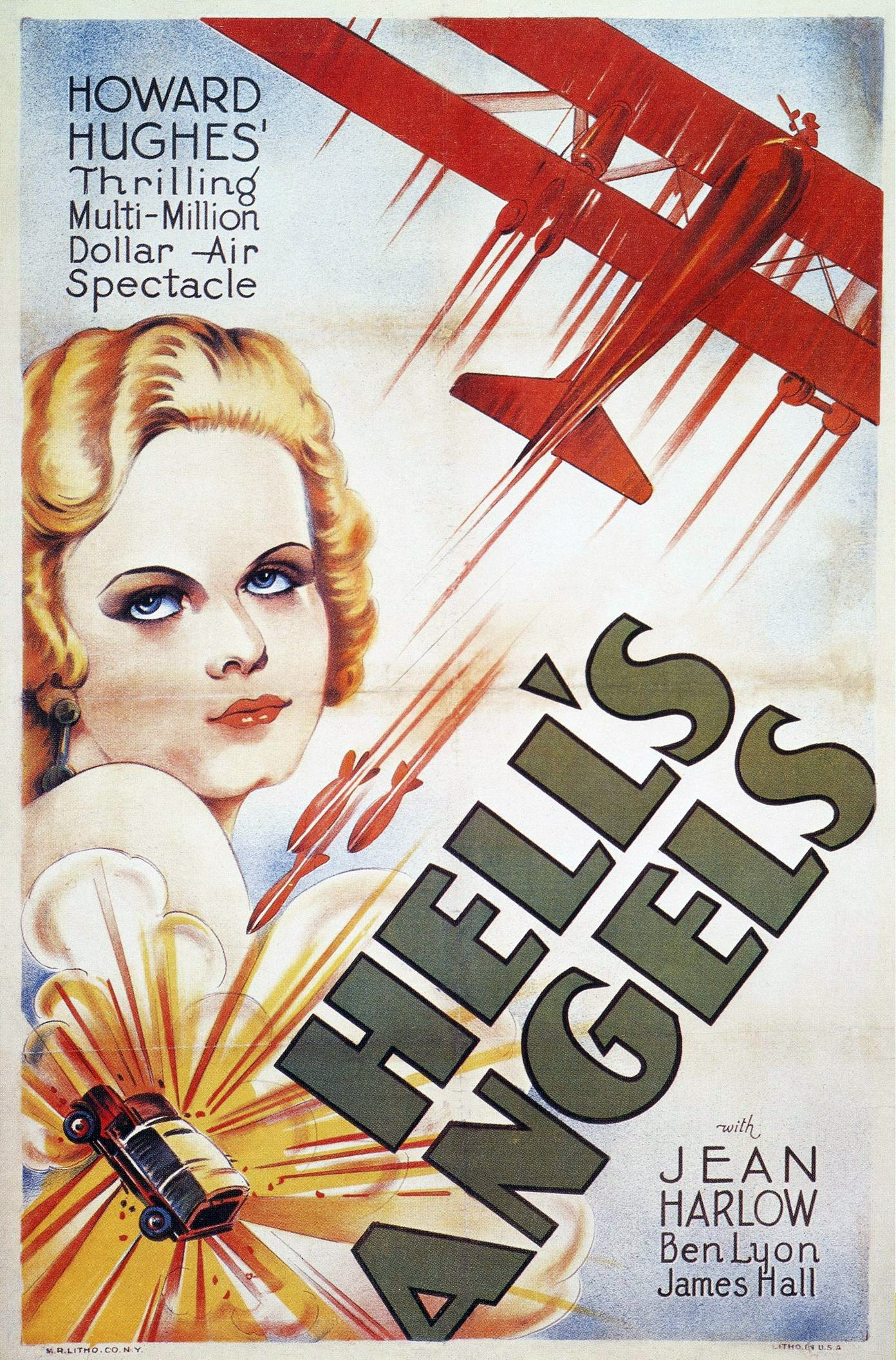 Hell/'s Angels /'69 Vintage Movie Poster