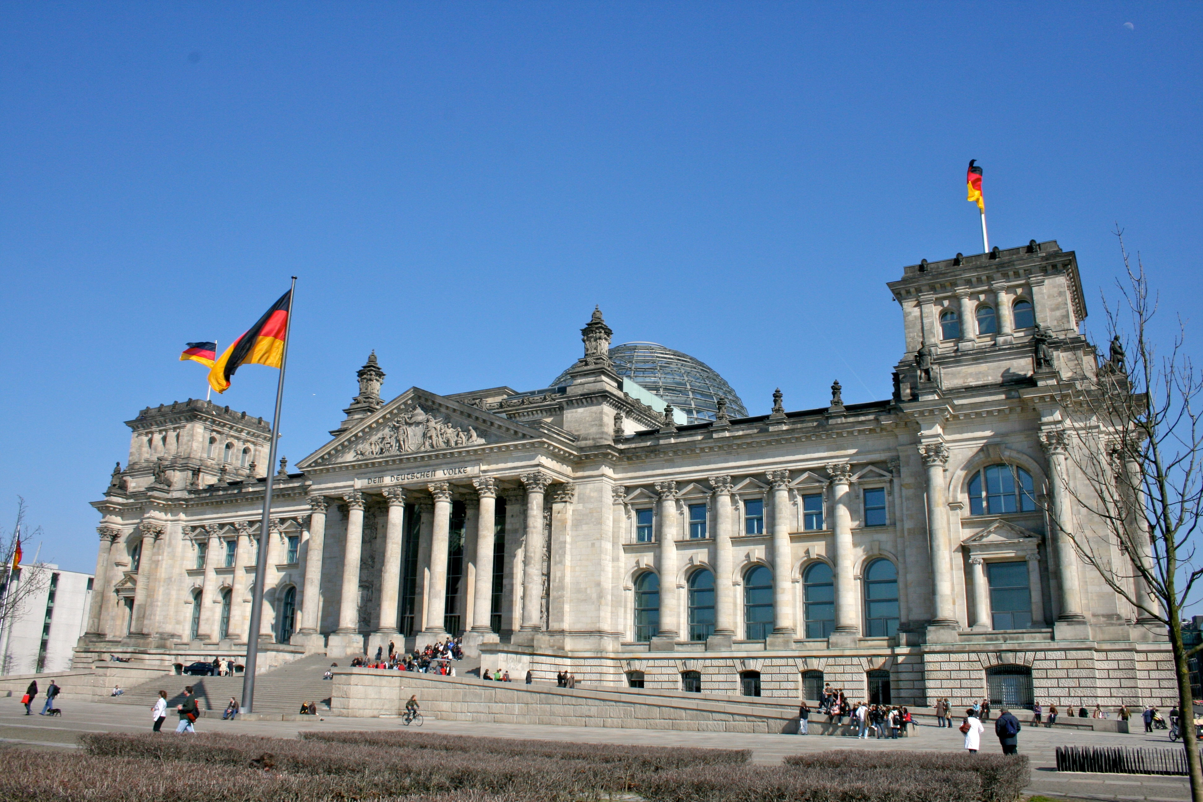 Reichstag Building, Berlin[1280x735] : ArchitecturePorn