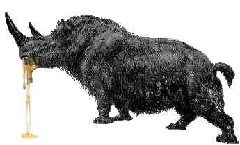 File:Rhinocéros baveux silhouette.png - Wikimedia Commons
