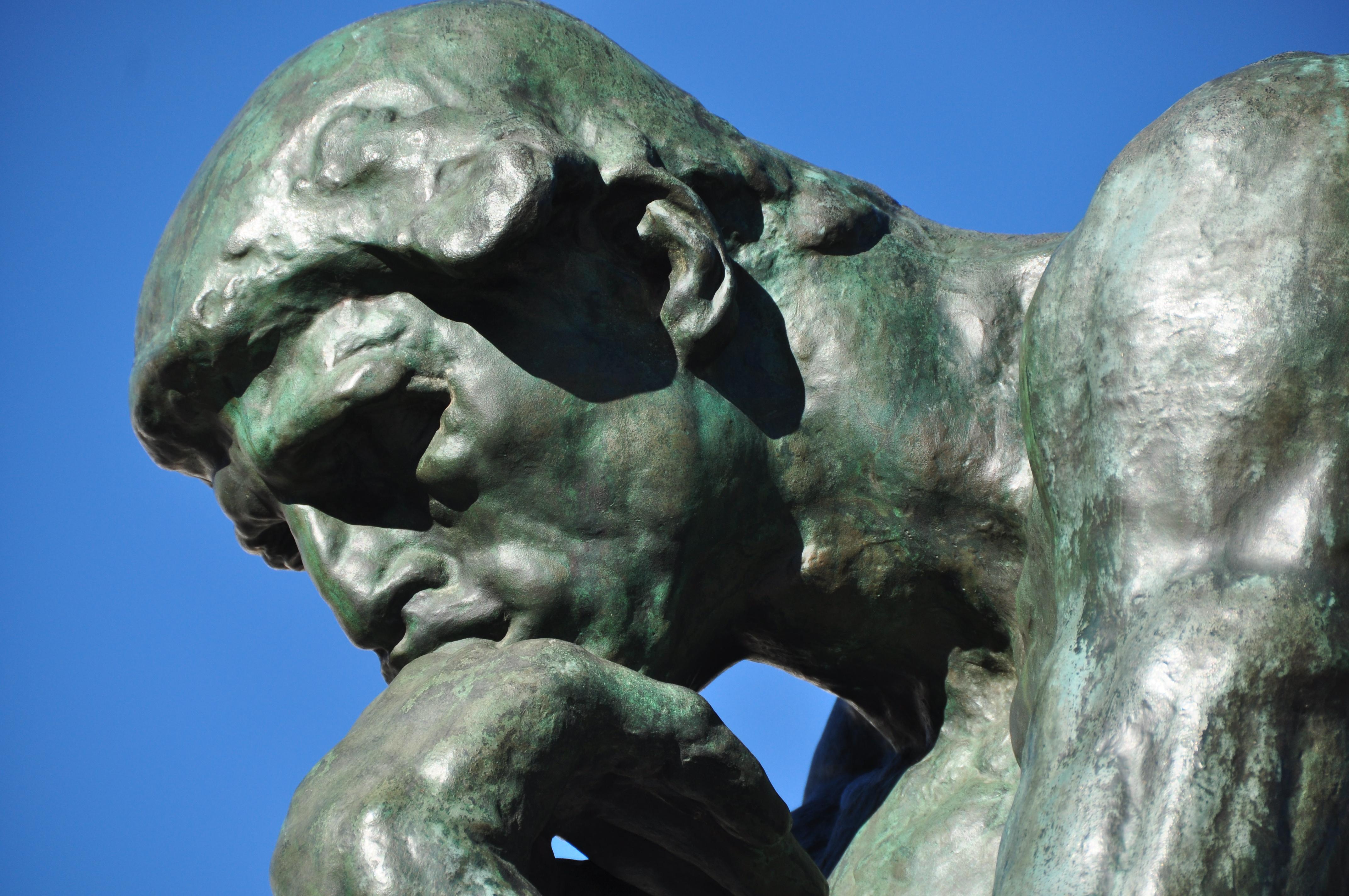 Resultado de imagen de el pensador
