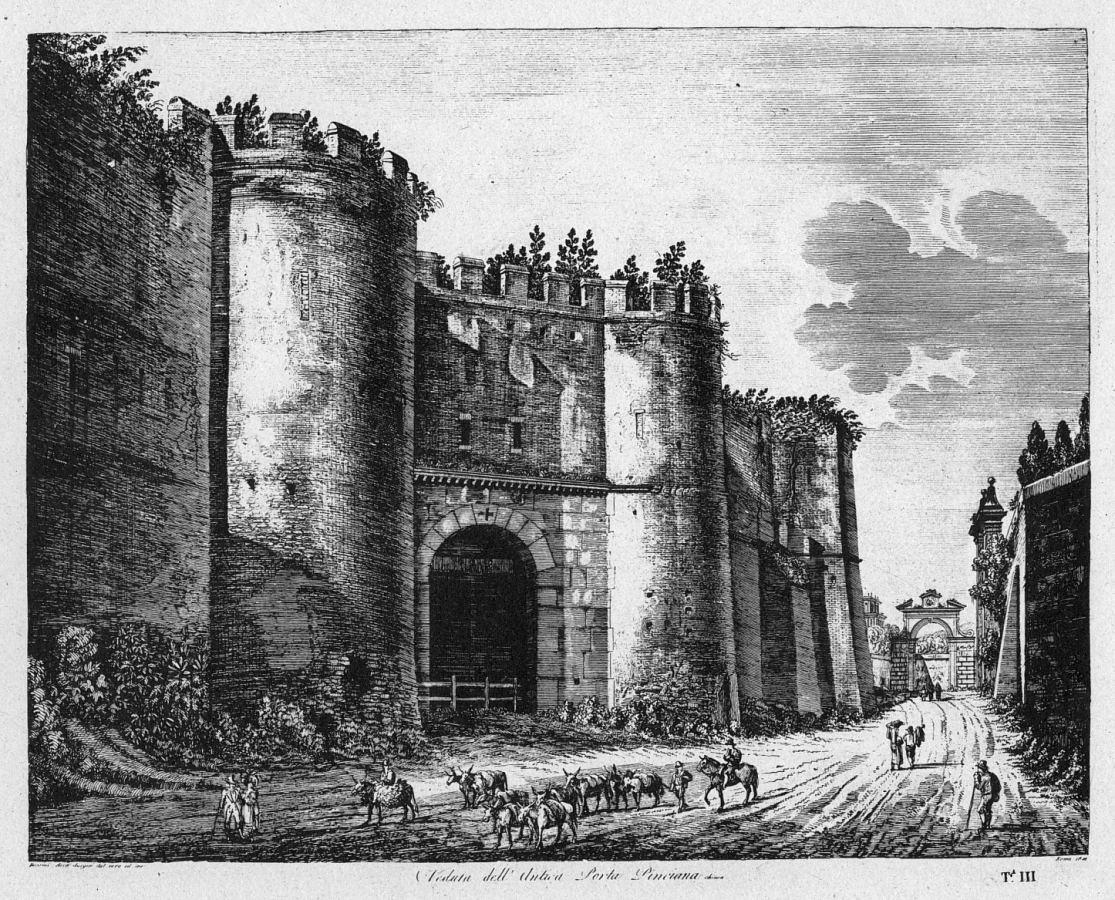 File roma porta pinciana incisione wikimedia - Via di porta pinciana 34 roma ...