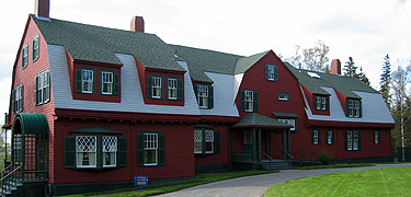 Roosevelt Campobello International Park (affiliated area) Roosevelt cottage at Campobello.jpg