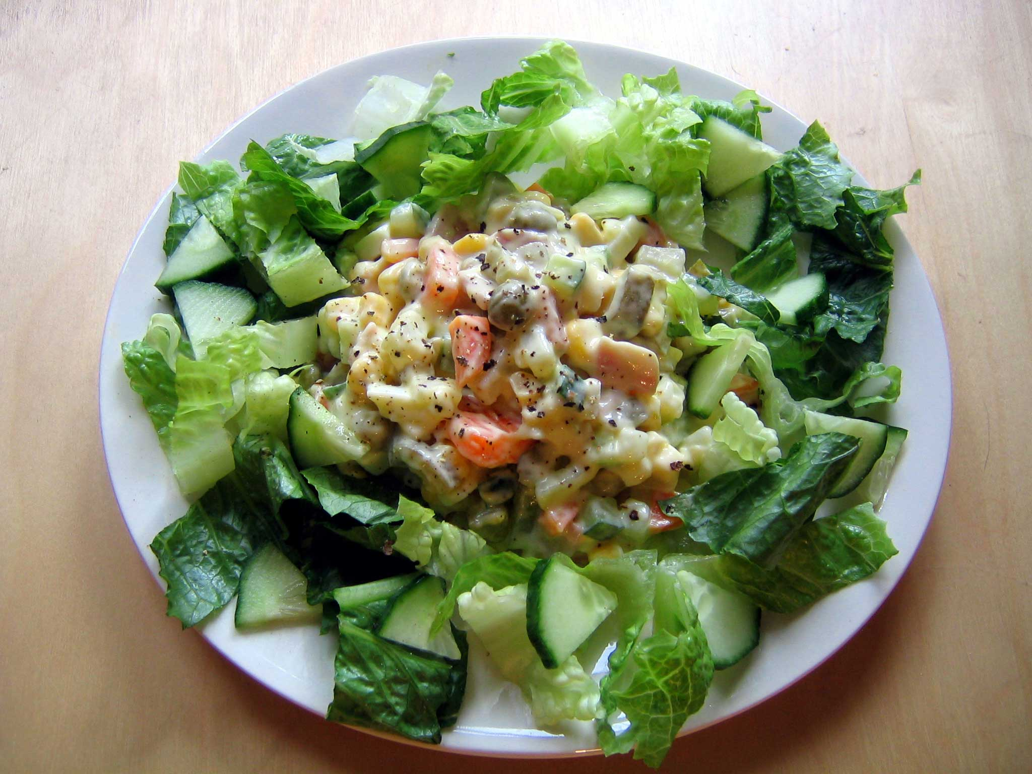 Salad Prolongs Essentially Meaningless Life Another Half Hour