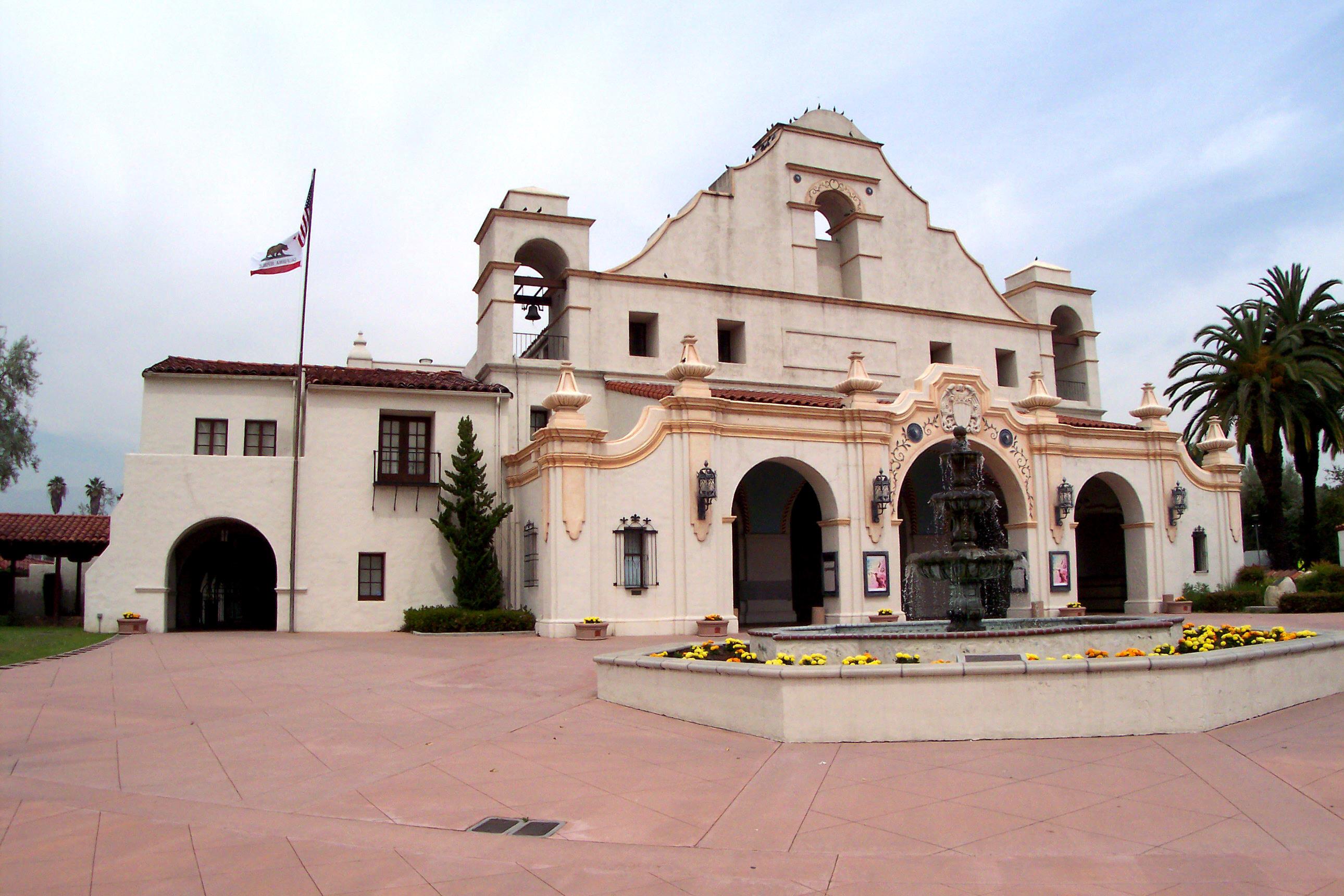 File san gabriel civic wikimedia commons for California architecture style