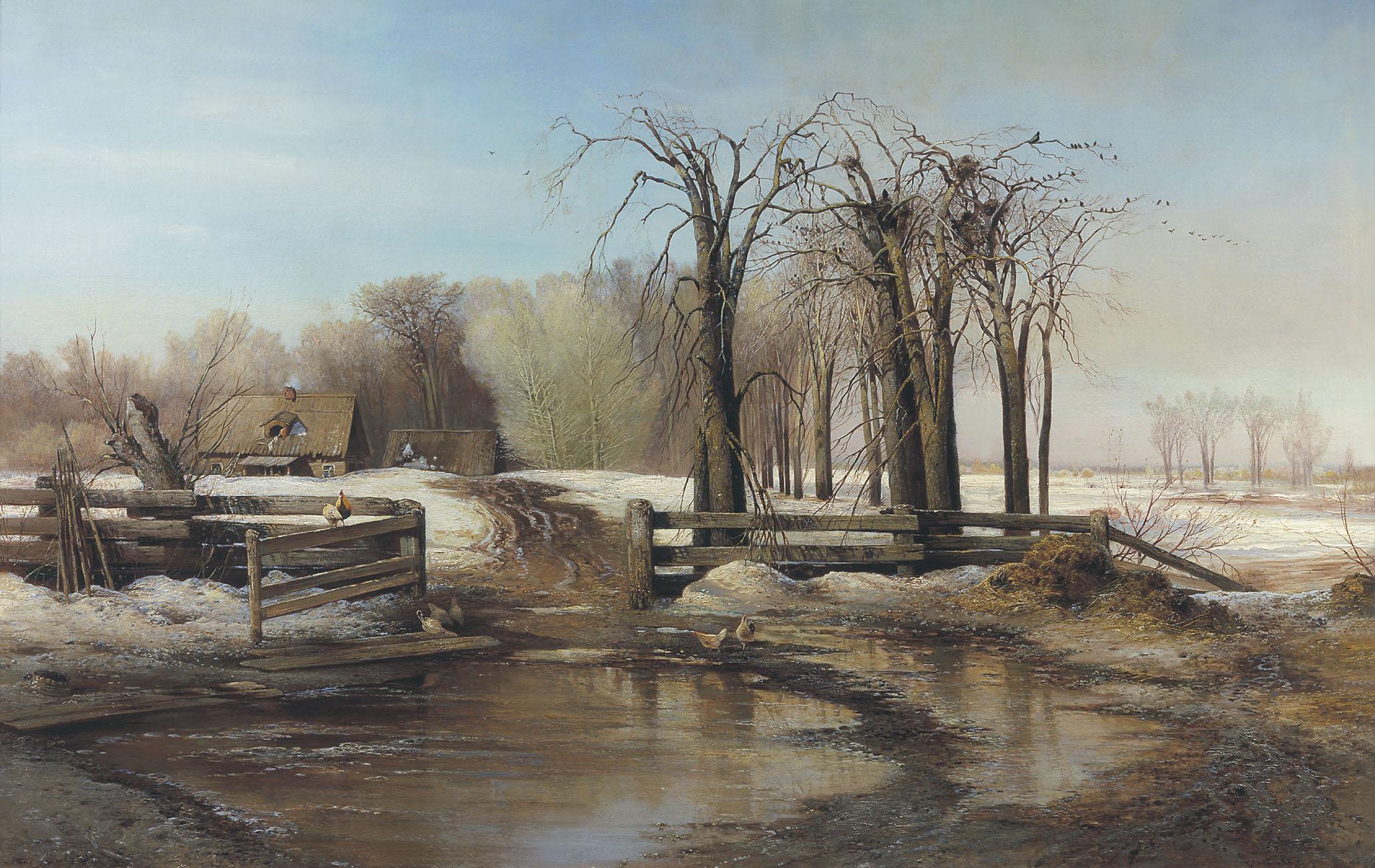SAVRASOV Alexei Spring Day, 1873