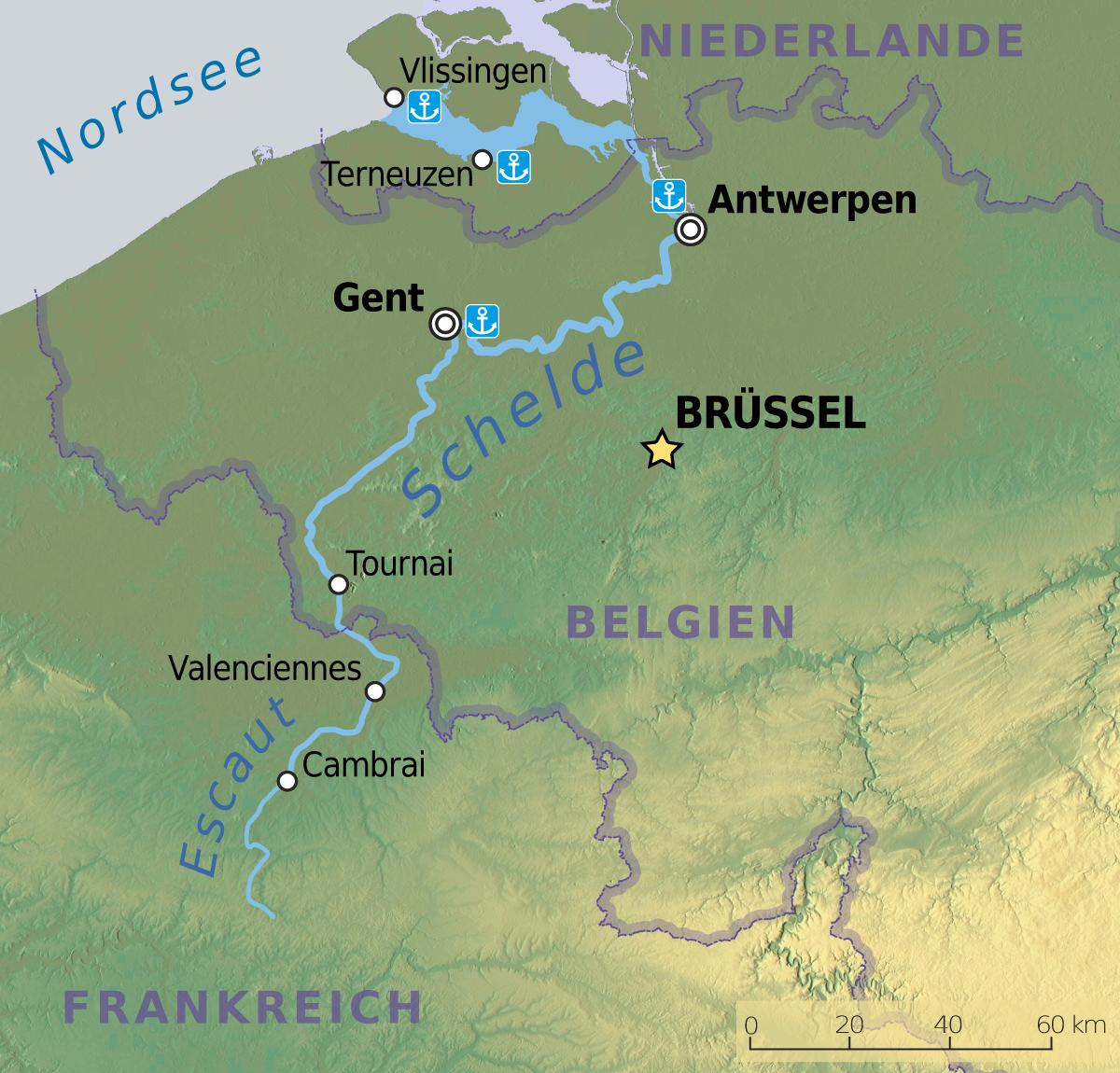 Les Plus Grand Villes De Belgique