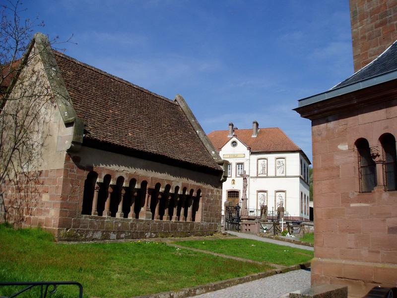 Das Beinhaus von Schorbach (Elsass)