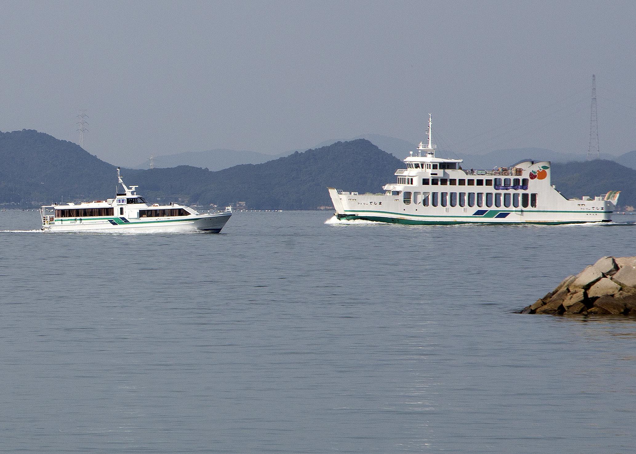 小豆島 豊島 フェリー