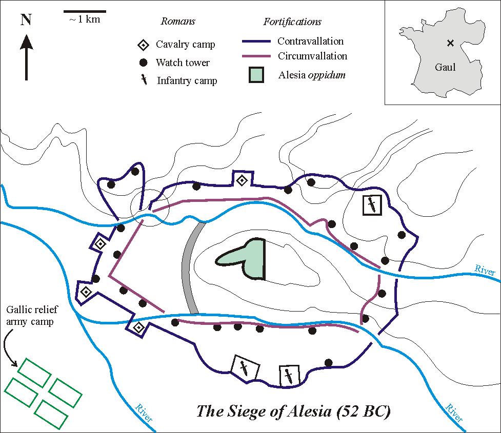 Batalla de Alesia SiegeAlesia