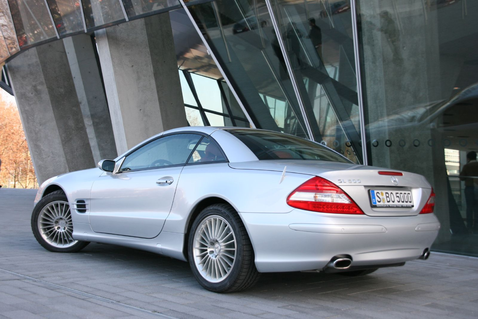 Image result for silver mercedes sl500 pictures