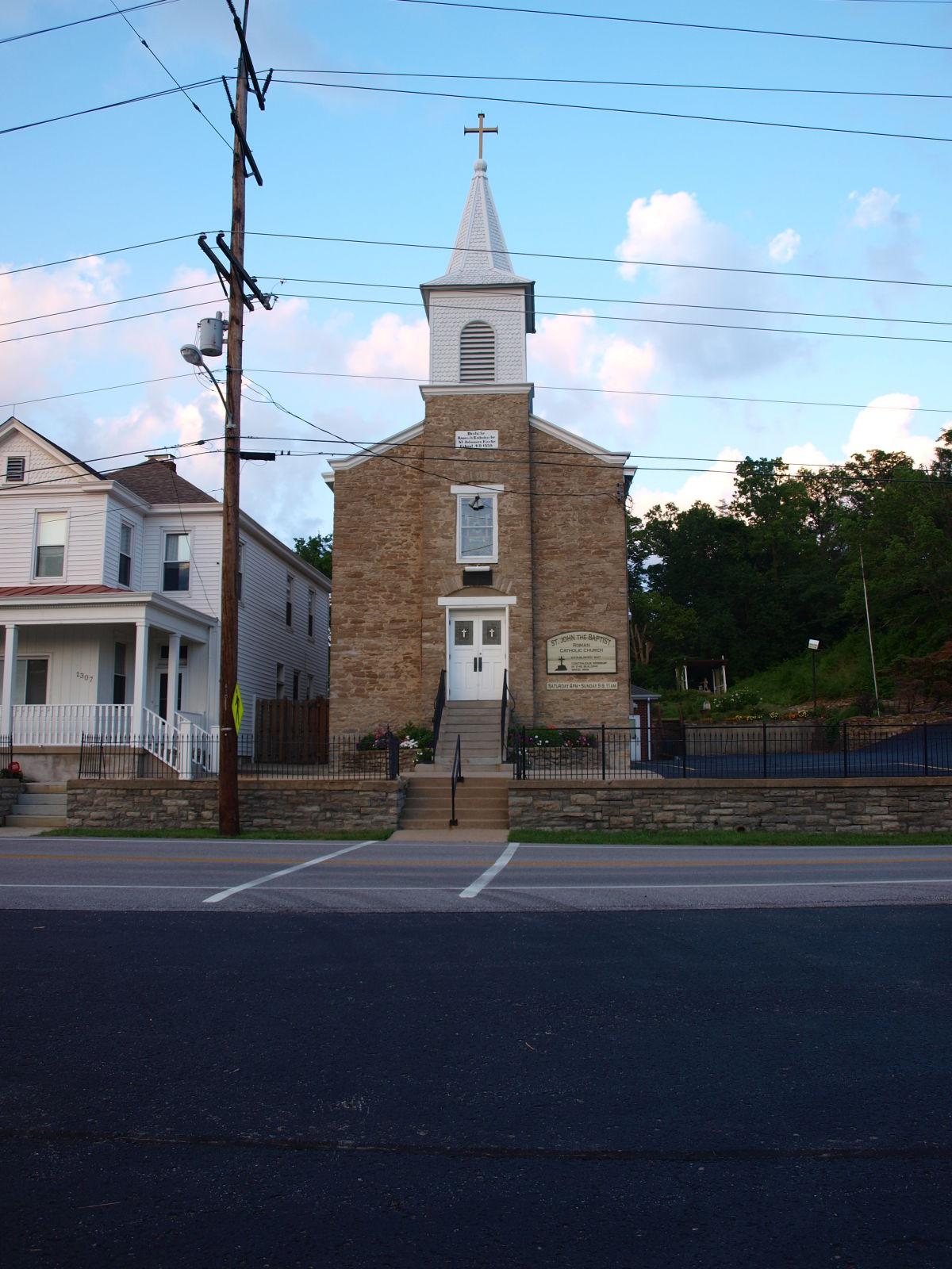 St John The Baptist Roman Catholic Church Wilder