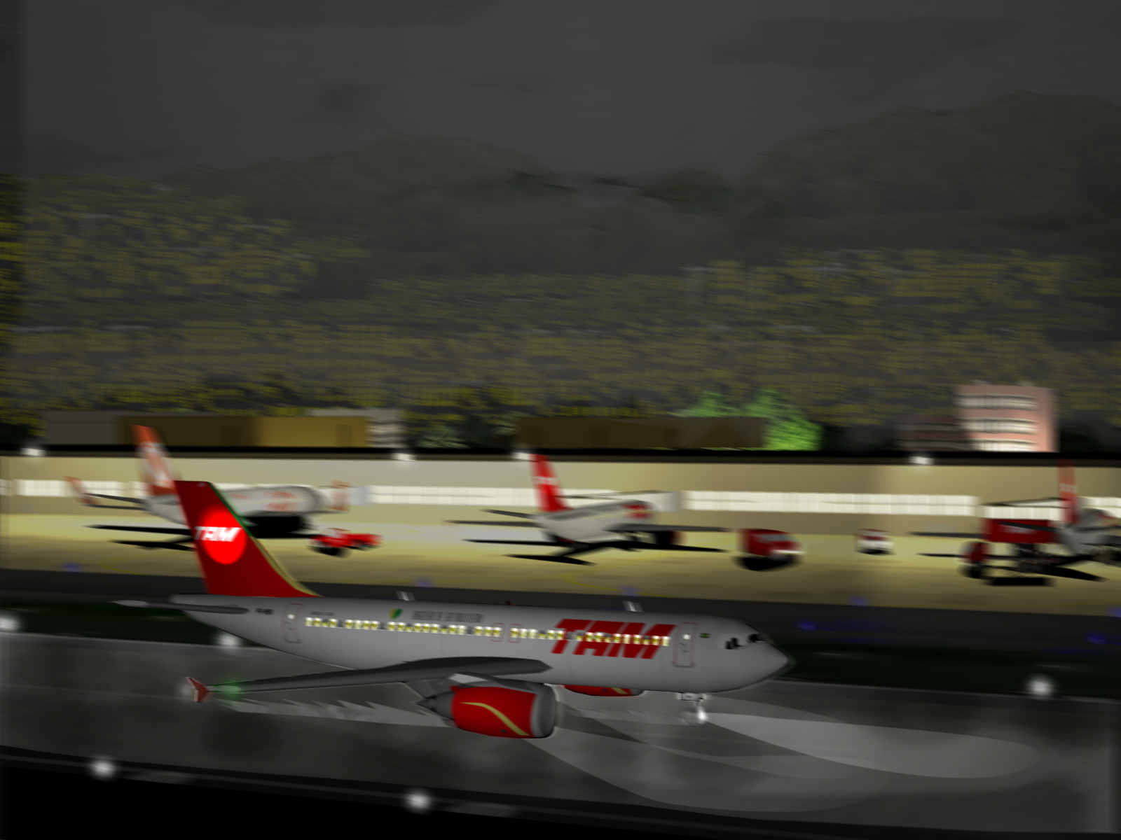 TAM Airlinesi lend 3054