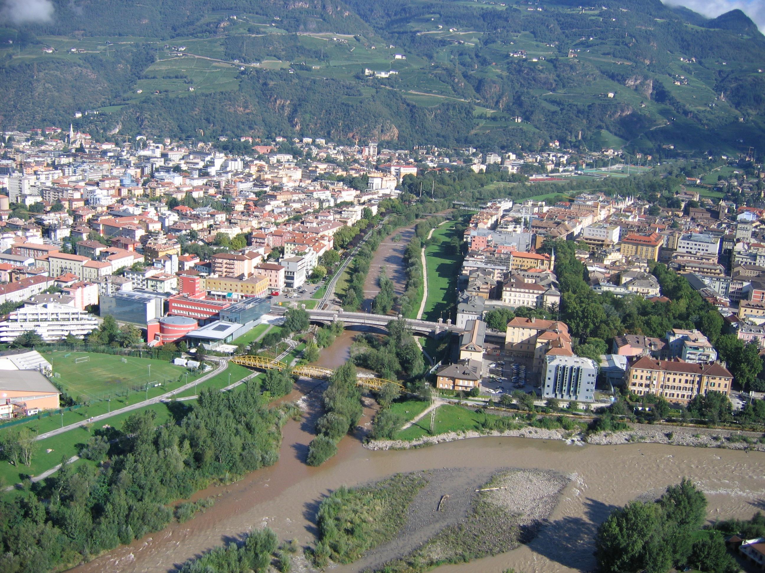 File wikimedia commons for Trento e bolzano
