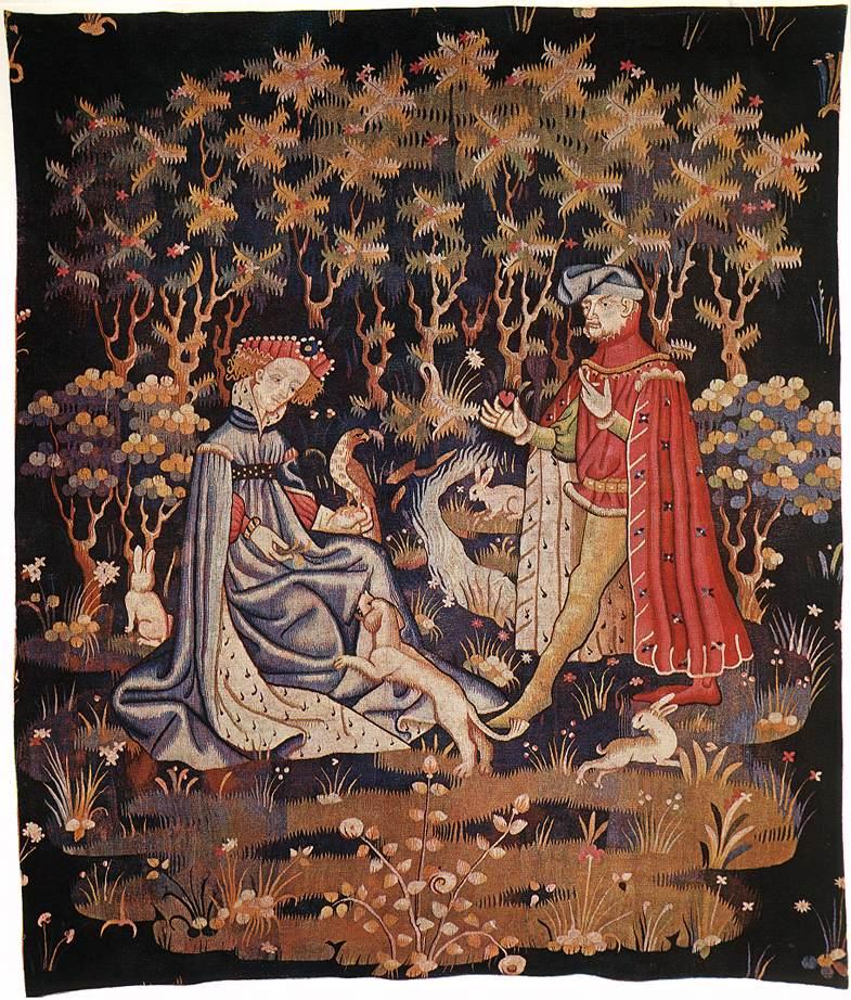 Гобелен -средневековье - блог о фотографии