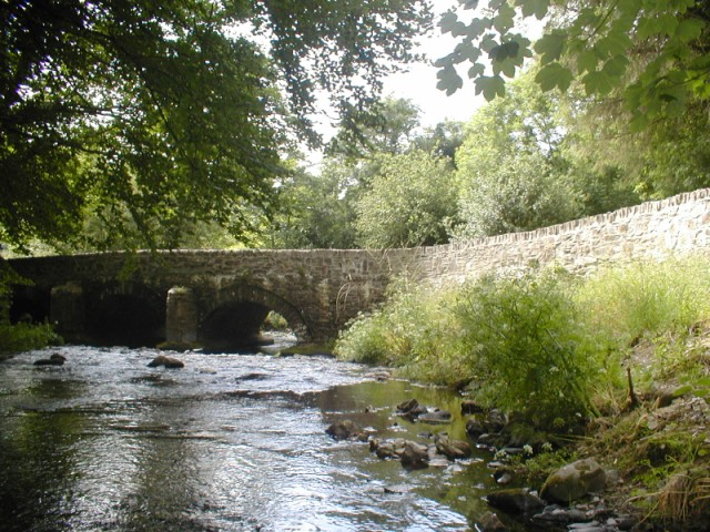 The bridge at Llanychaer. - geograph.org.uk - 911324