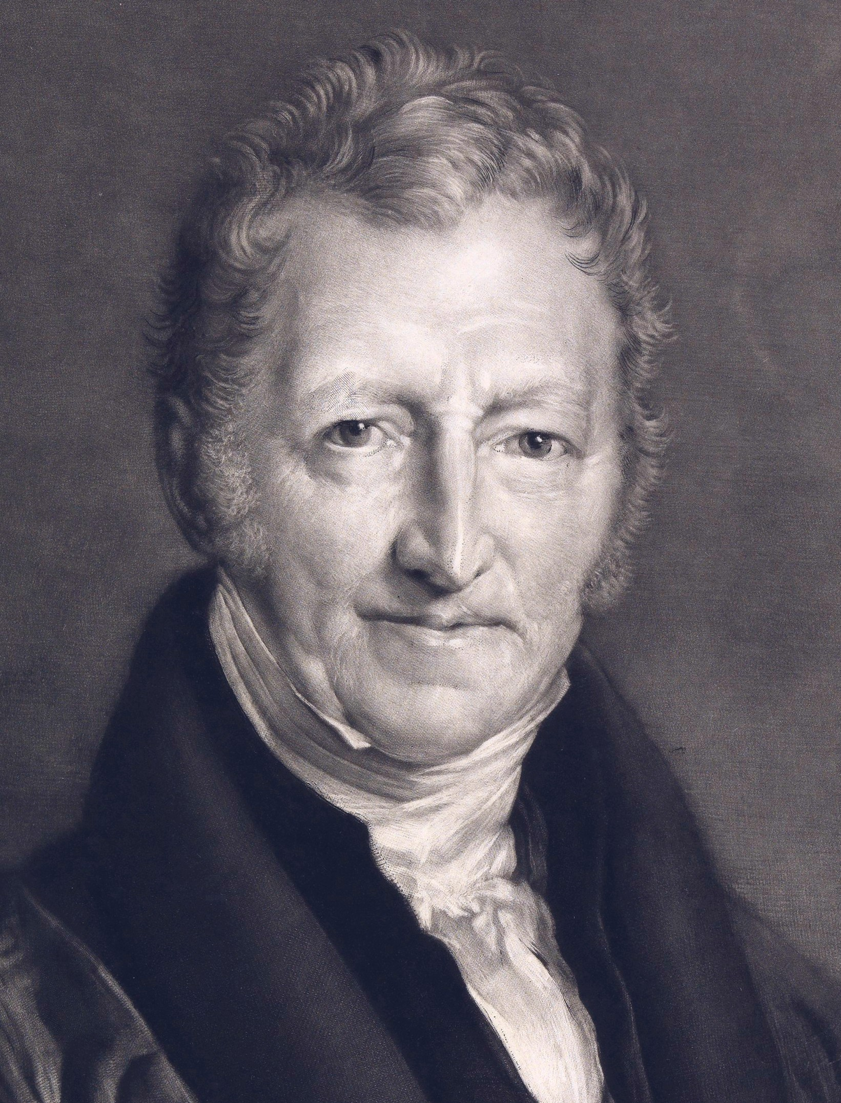 Thomas Malthus, father of sustainability, and population theory