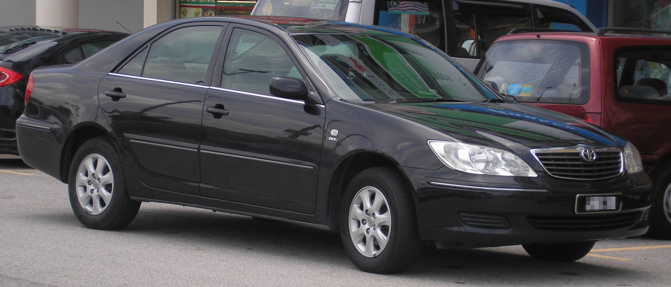 File Toyota Camry Fifth Generation Front Serdang Jpg