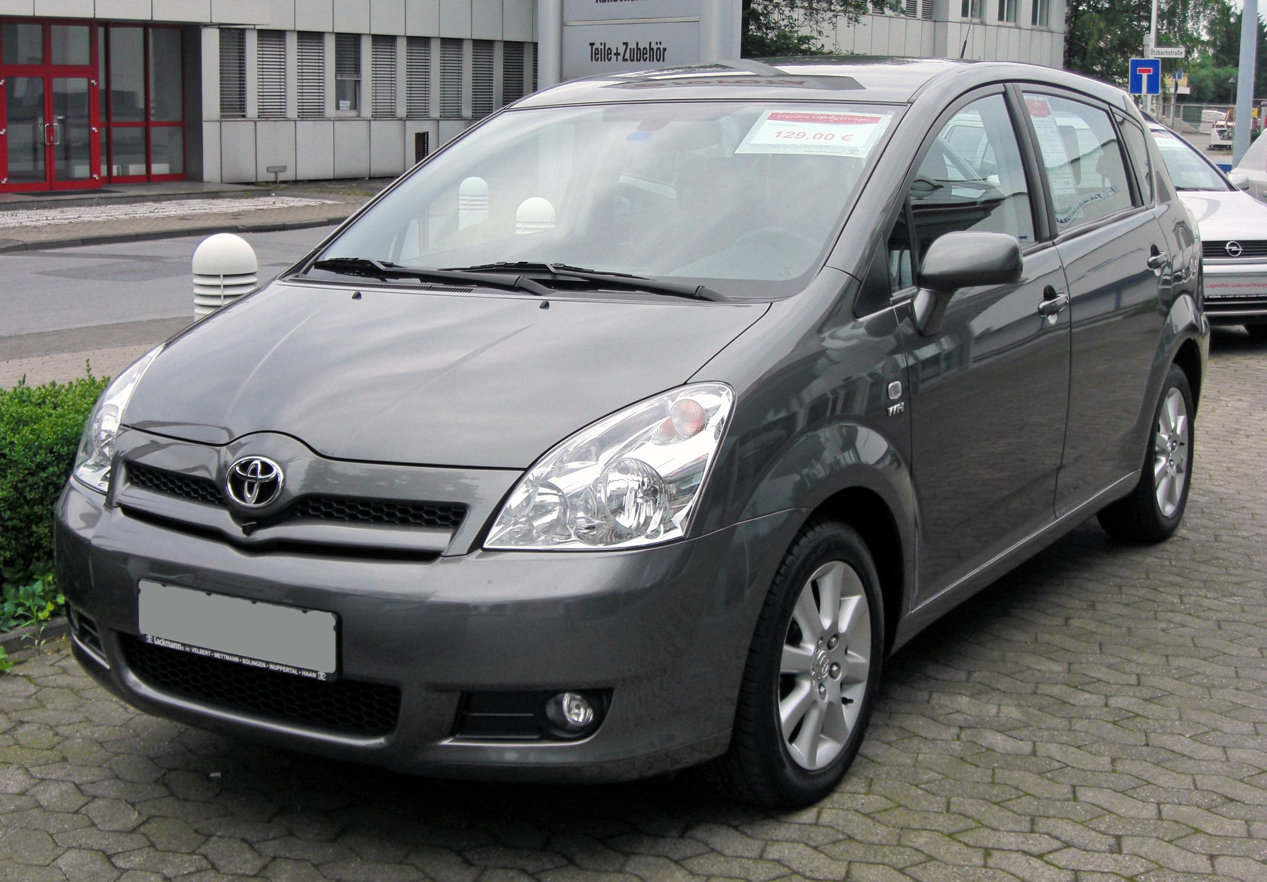 Description Toyota Corolla Verso II 20090620 front.JPG