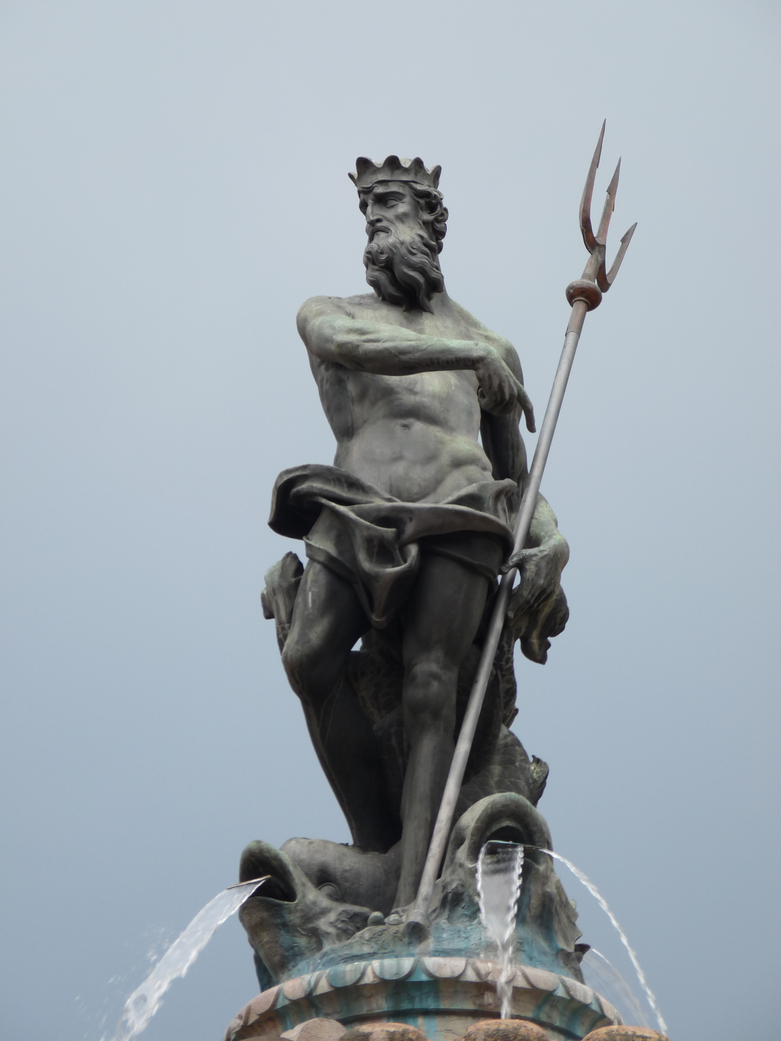 1000 images about sculpture on pinterest - Poseidon statue greece ...