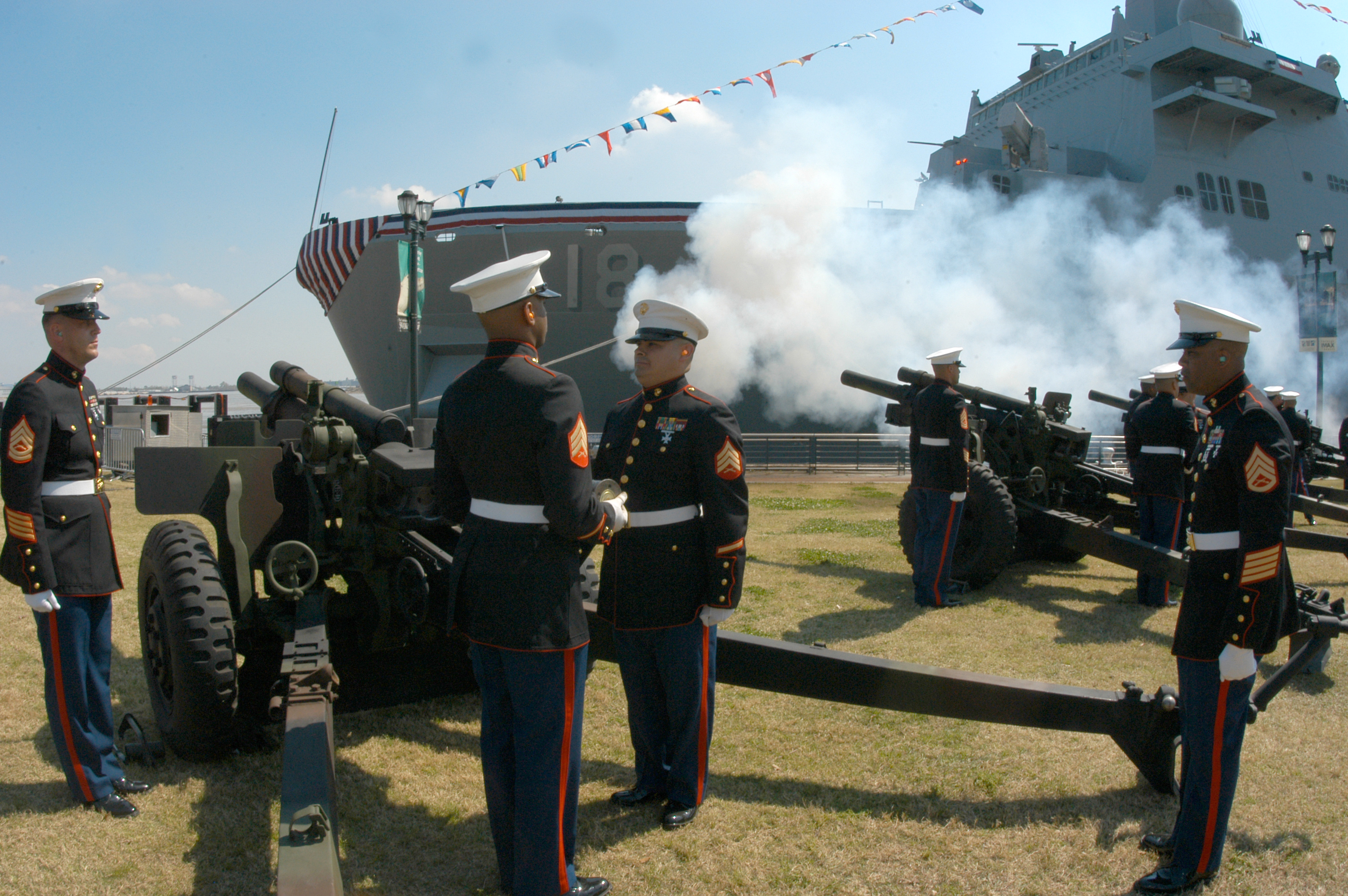 File:US Navy 070310-N-3429E-002 Marines from 14th Marine Artillery ...