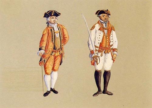 Depiction of Uniforme militar
