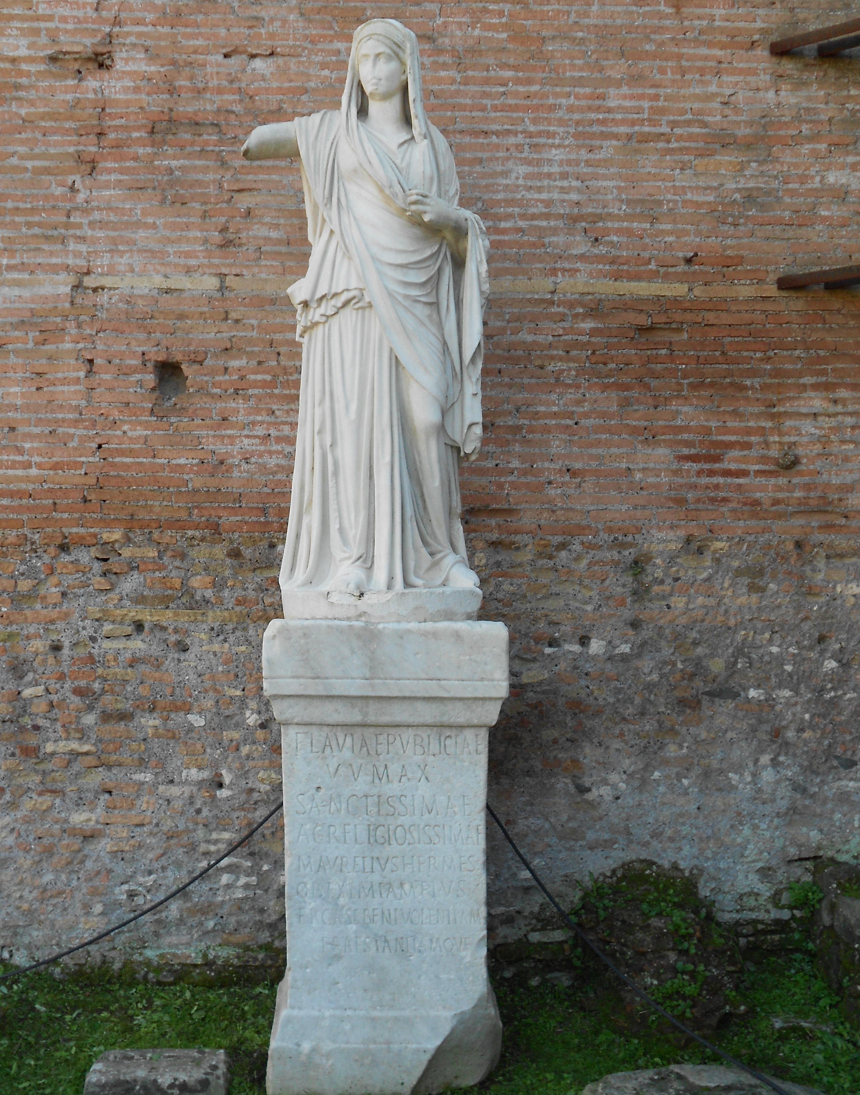 Vestale wikiwand - Maison romaine antique ...