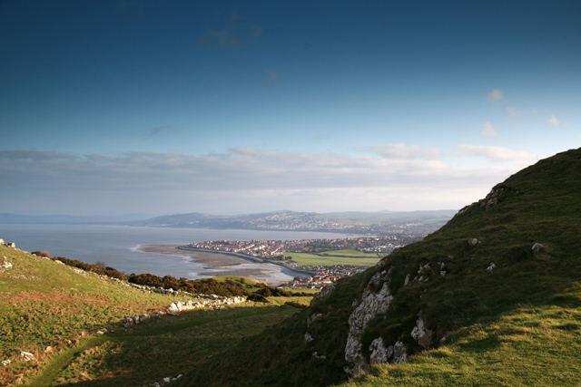 View SE from Little Orme - geograph.org.uk - 425583