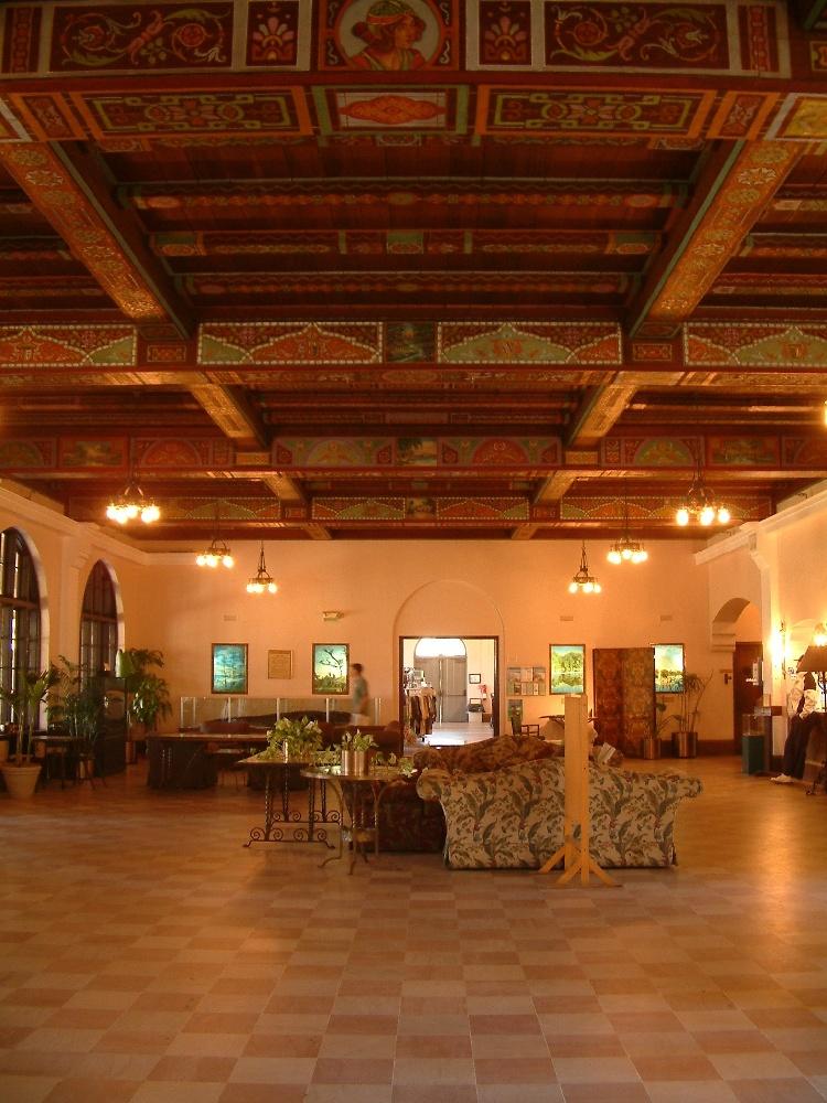 Dining room at edward ball wakulla springs state park in florida jpg