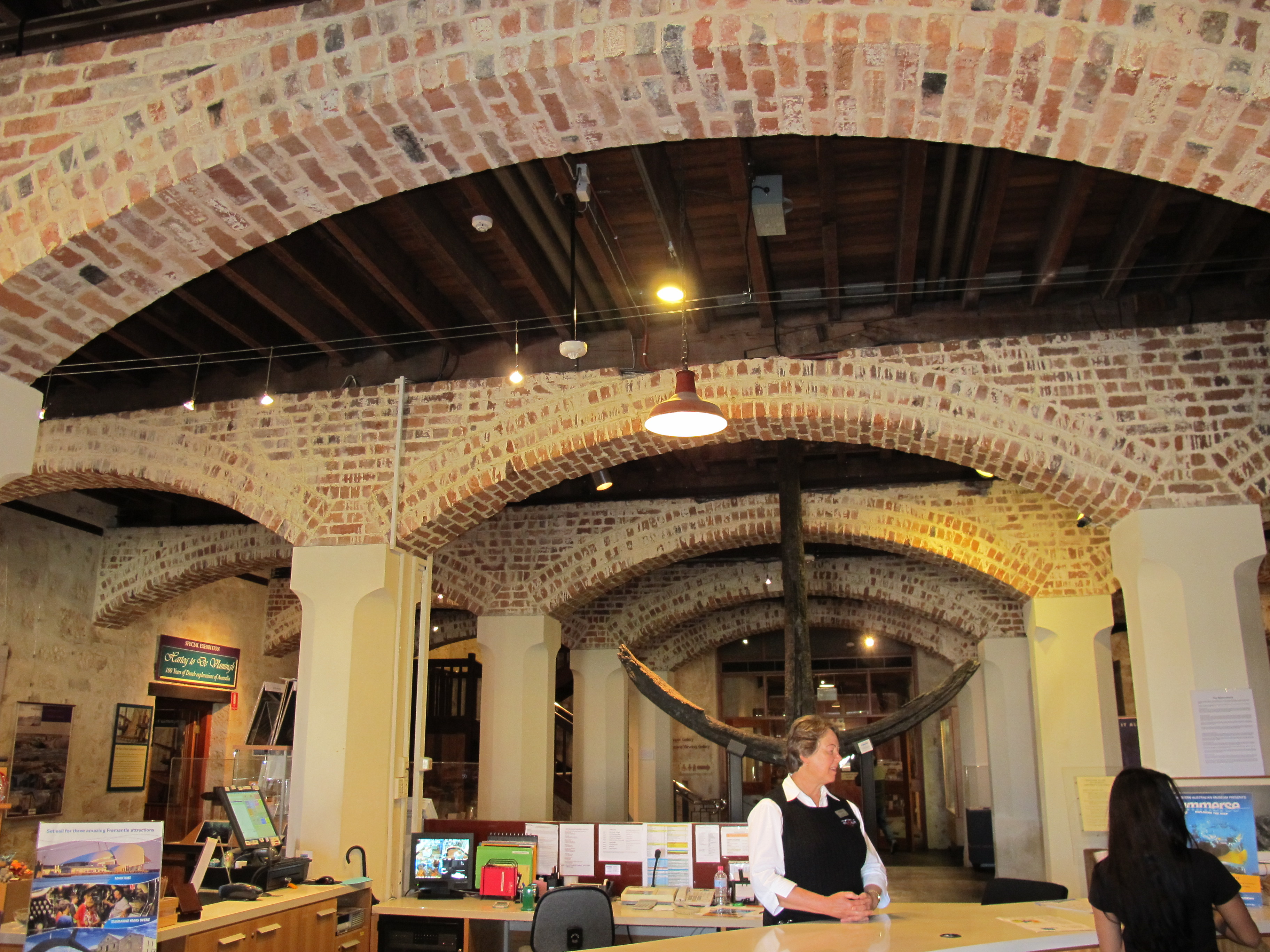 oostryck maritime museum brick arches wikimedia commons