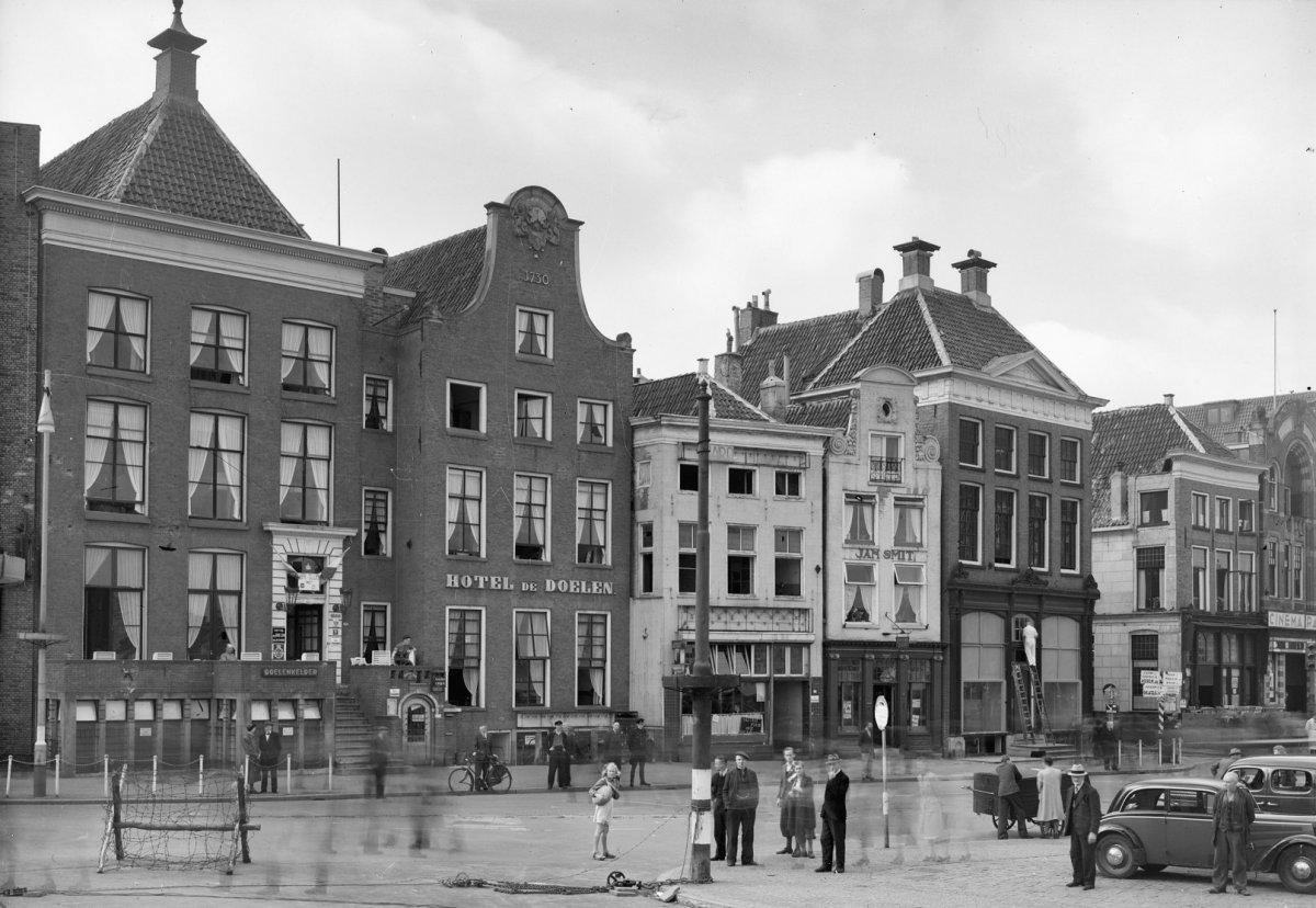 File Zuid Zijde Hotel De Doelen Groningen 20093766 Rce Jpg