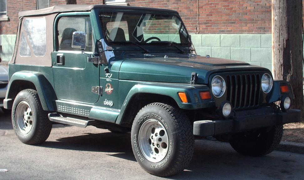 1997 jeep tj sahara