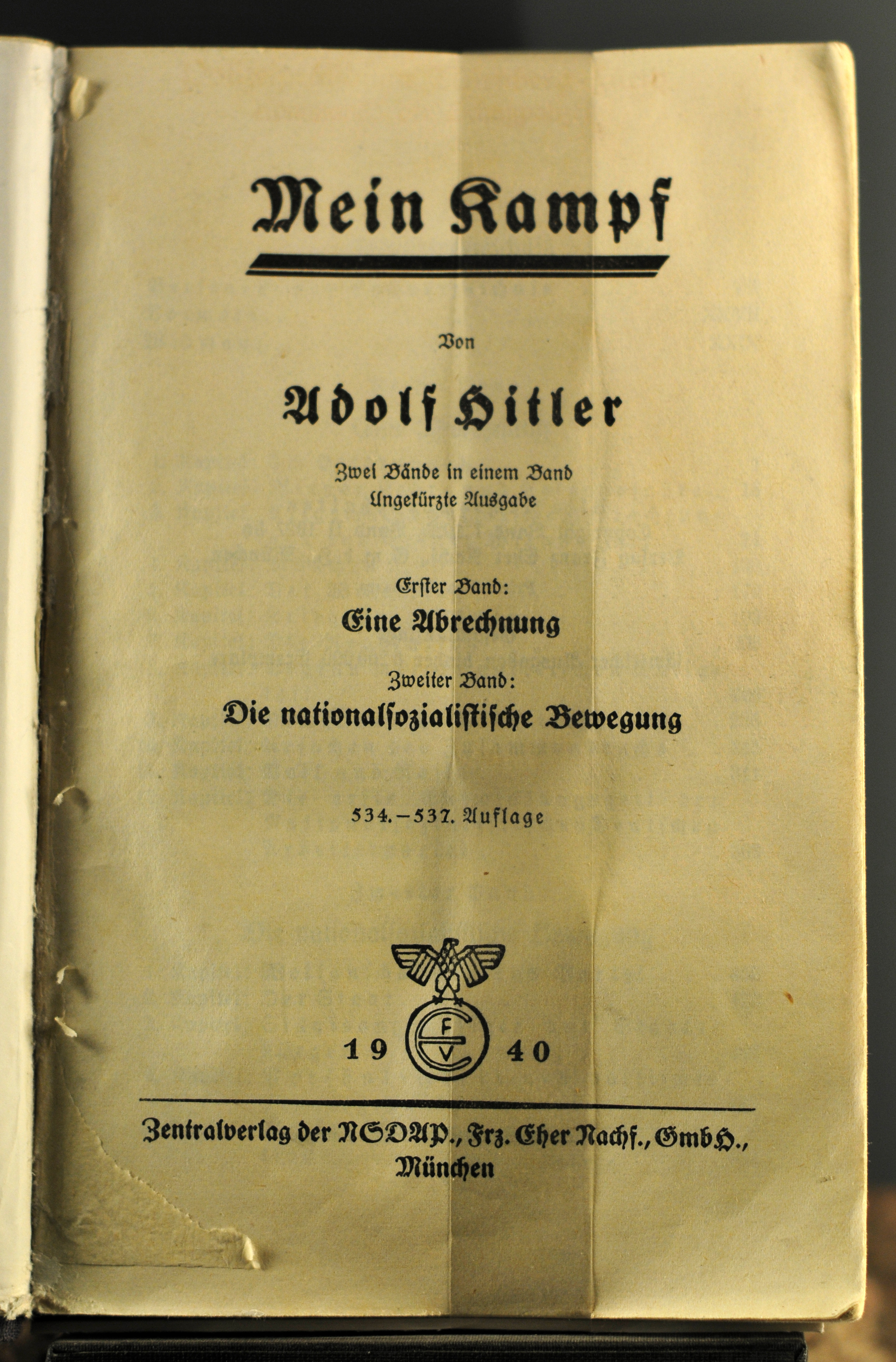 Noch eine alte Ausgabe, ohne kritische Anmerkungen. (Quelle: Ralf Roletschek via Wikimedia Commons, gemeinfrei)