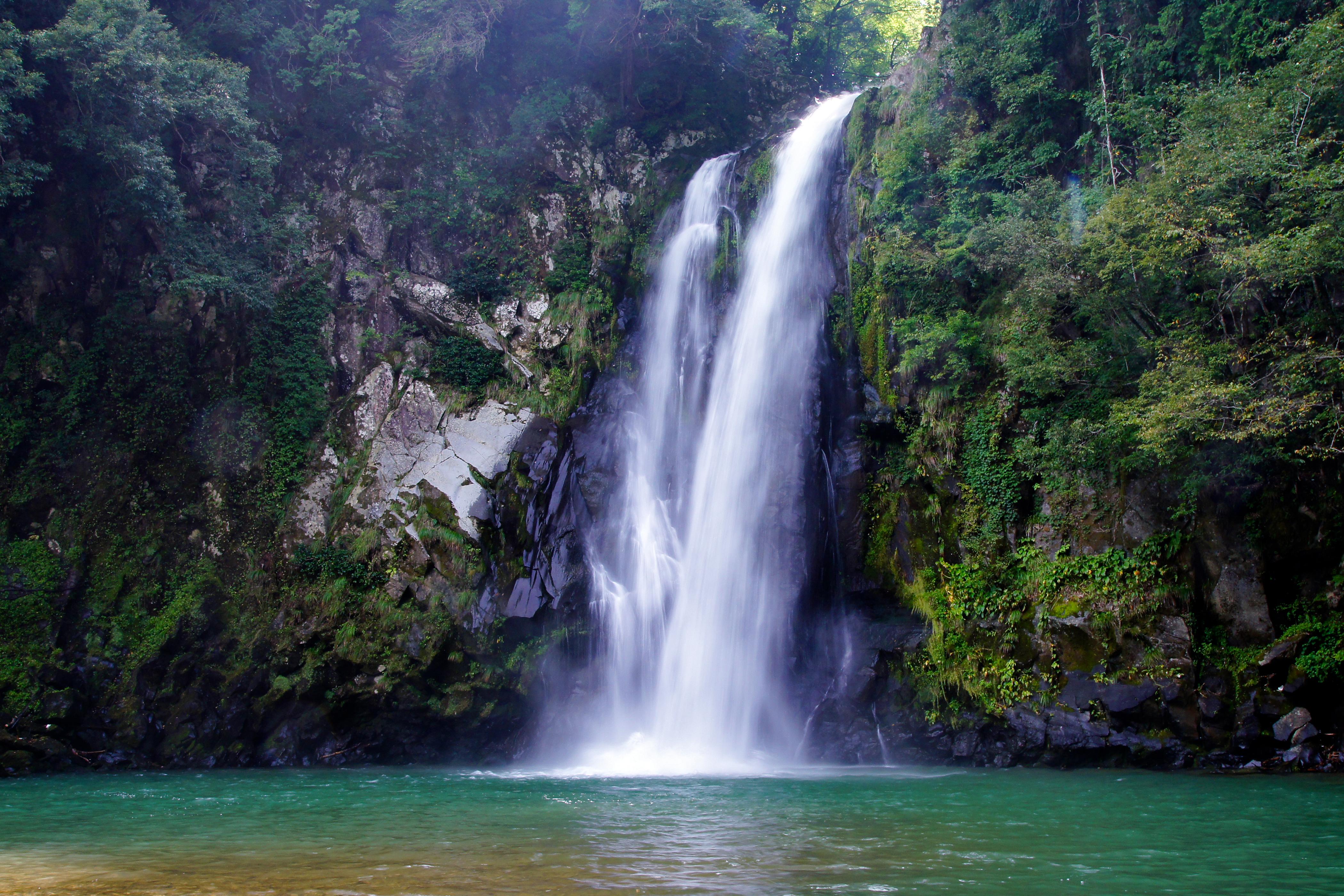 Toyooka Japan  city photo : 130914 Hattandaki Waterfall Toyooka Hyogo pref Japan03s5