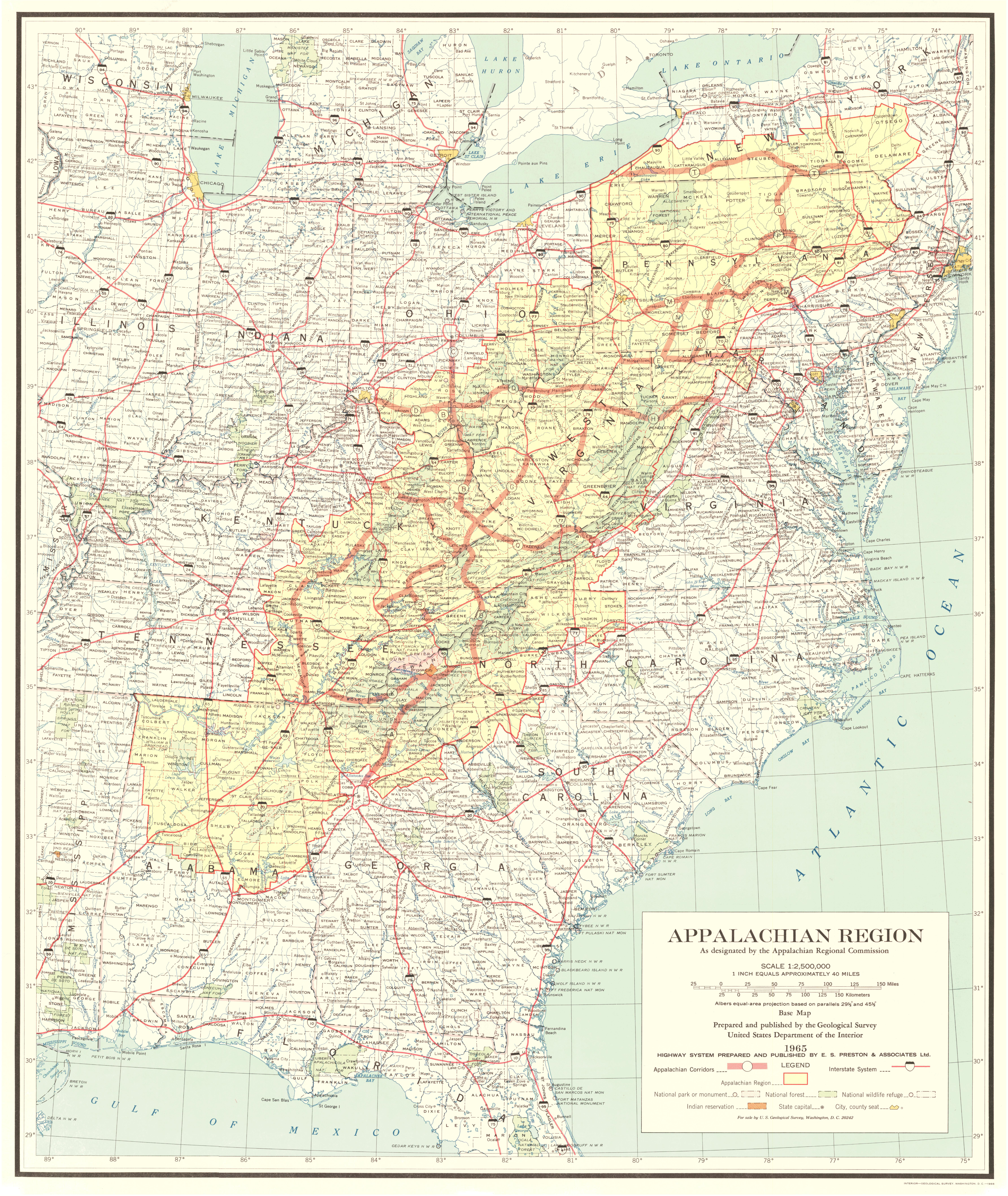 File1966 map of the Appalachian Development Highway Systemjpg