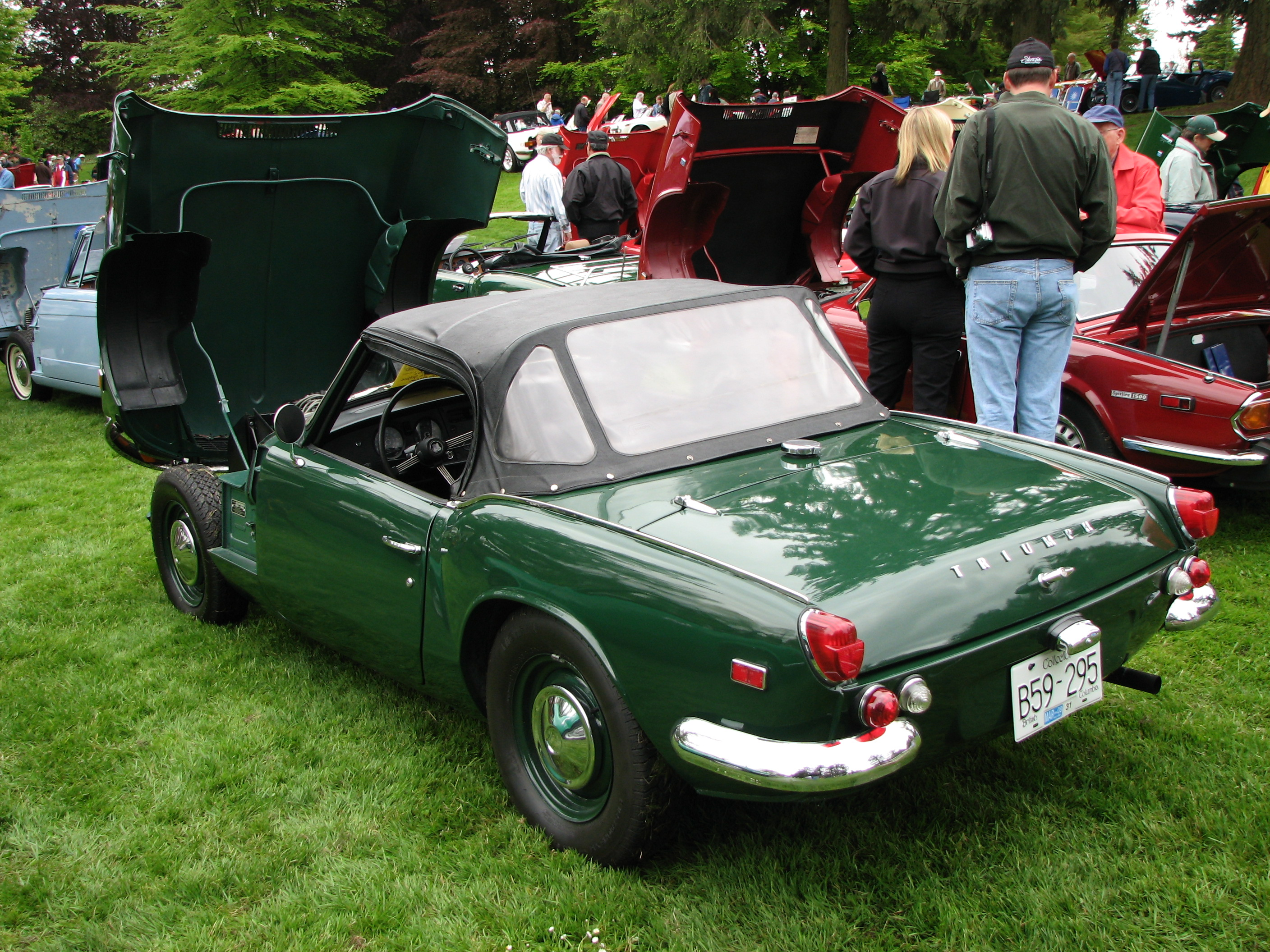 file 1969 triumph spitfire mk3 us specs wikimedia commons. Black Bedroom Furniture Sets. Home Design Ideas