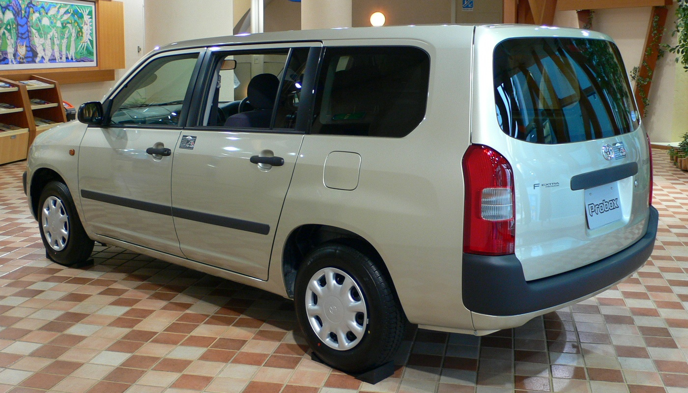 File 2002 Toyota Probox 03 Jpg Wikimedia Commons
