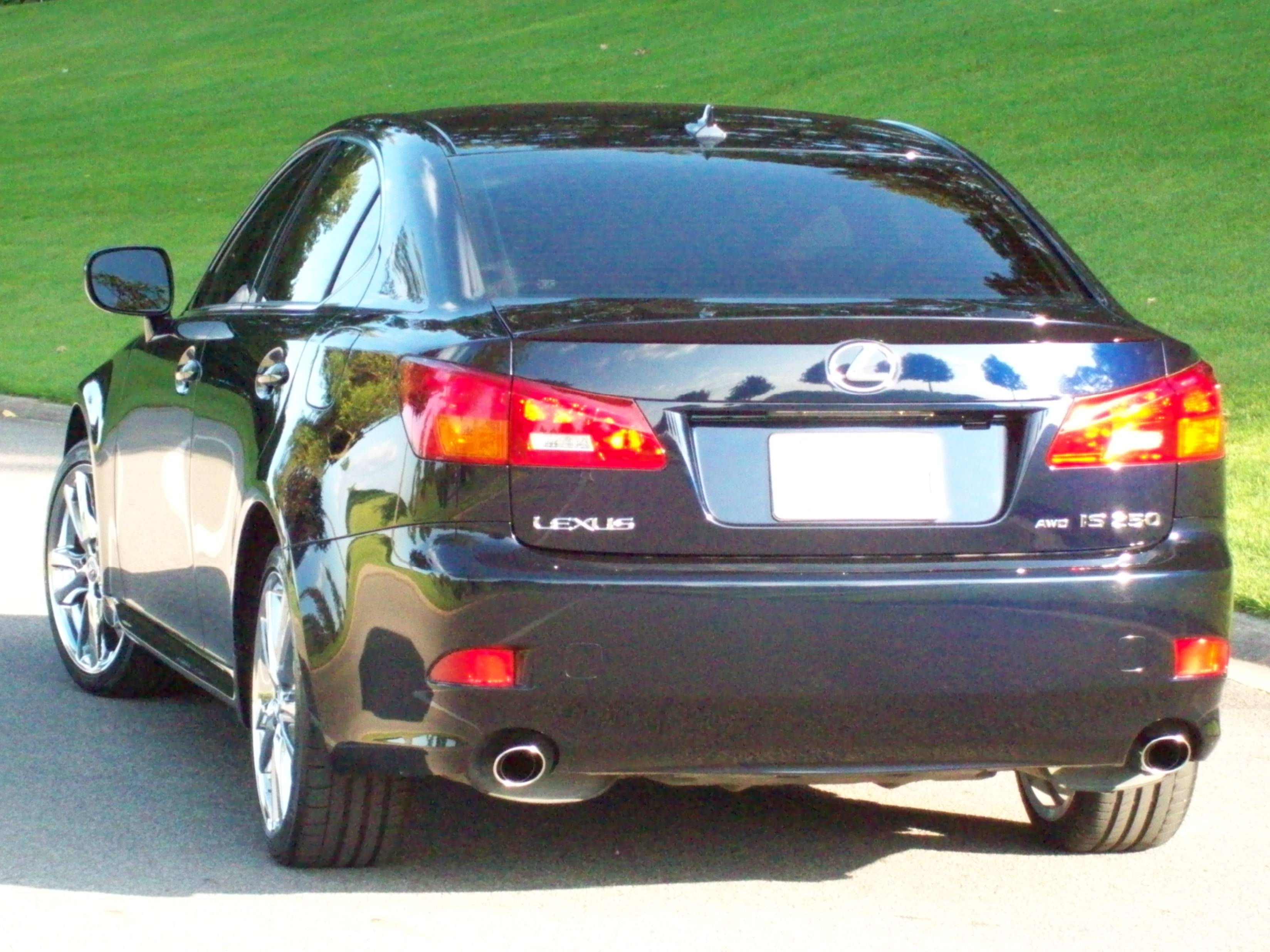 File:2007 Lexus IS 250 AWD 056.JPG