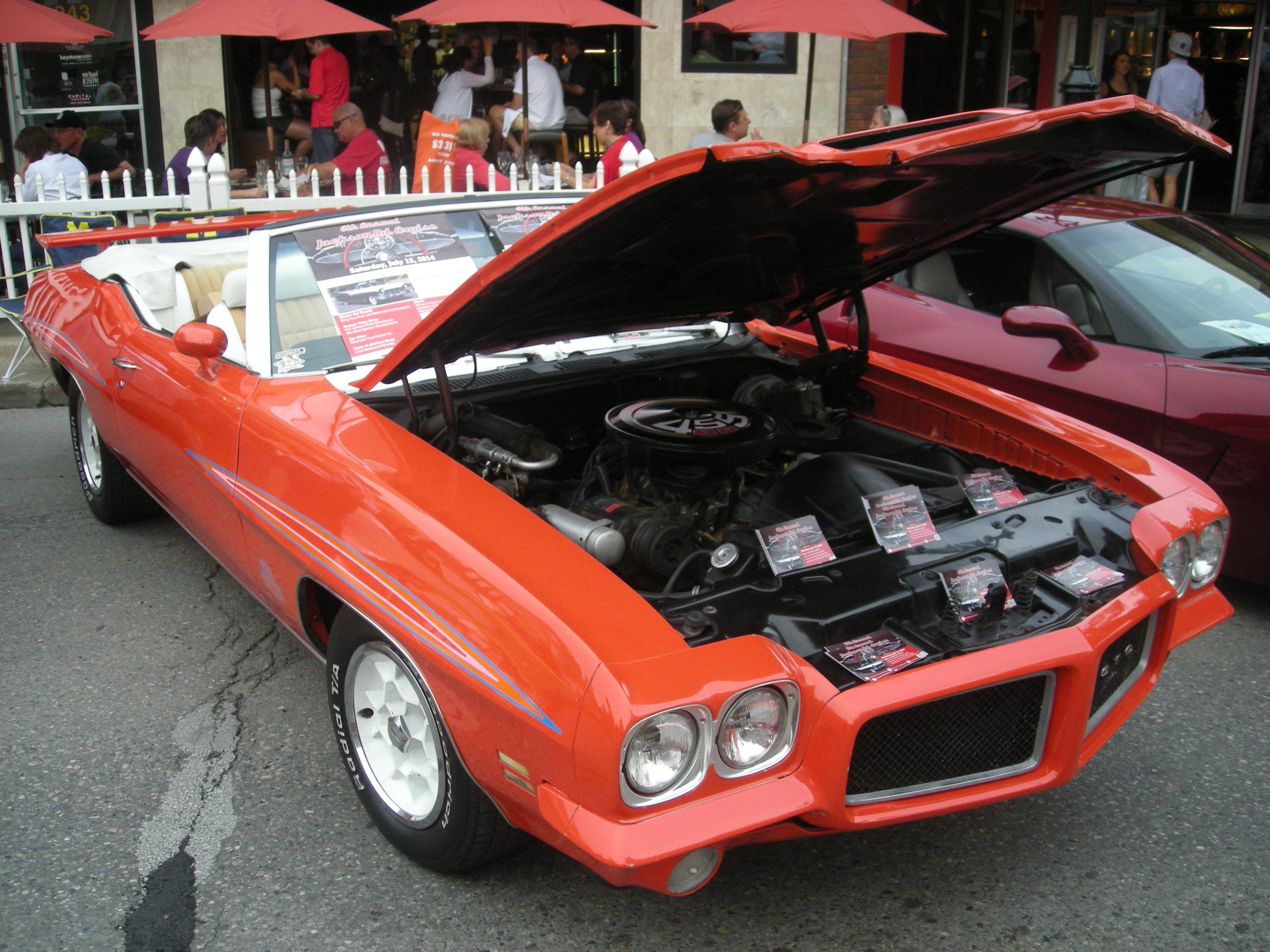 Pontiac Gto 2014 >> File 2014 Rolling Sculpture Car Show 75 1971 Pontiac Gto Jpg