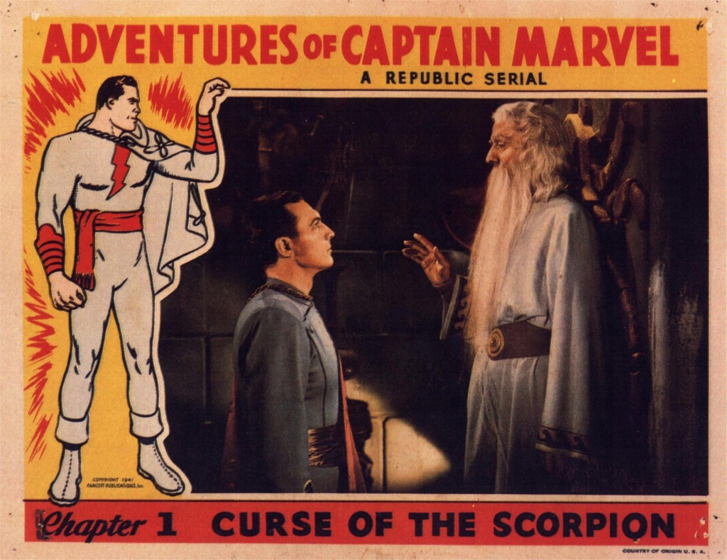 Image result for images of 1941 serial captain marvel