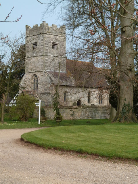 Photo of All Saints church, Spetchley