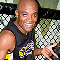 "Anderson ""The Spider"" Silva emerged ..."