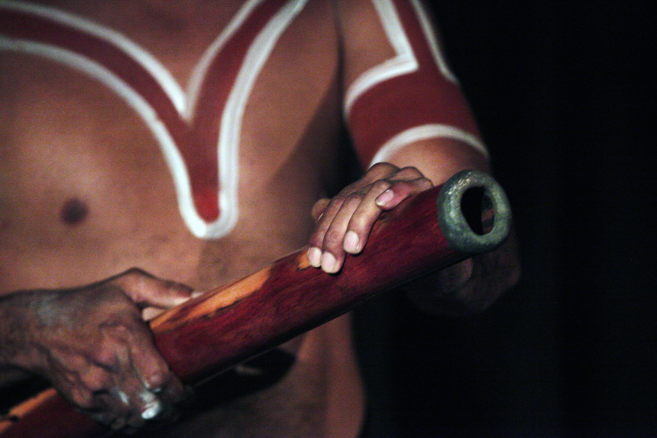 Didgeridoo Foto: Steve Evans